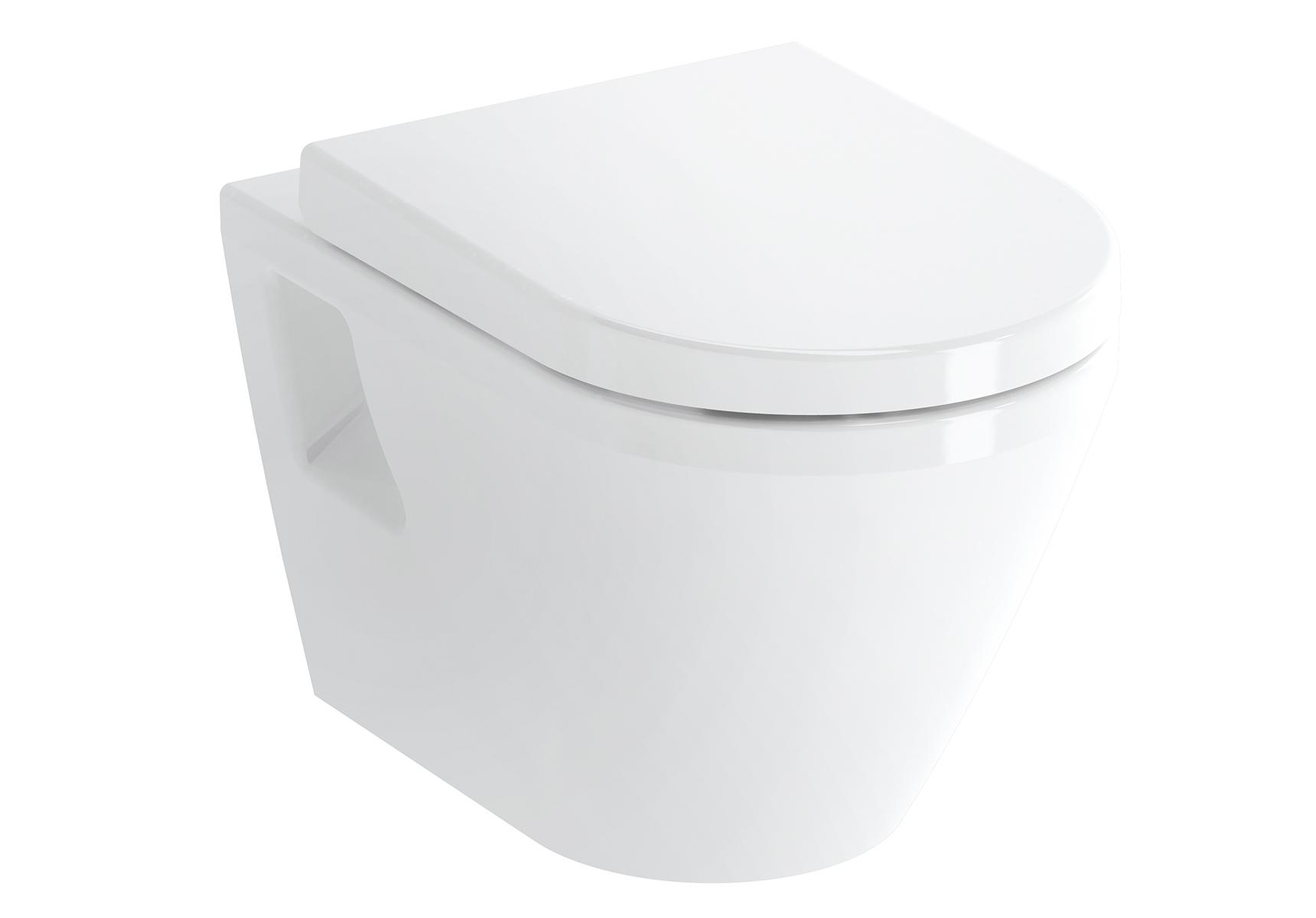 Integra WC suspendu sans bride, 54 cm, avec fonction bidet