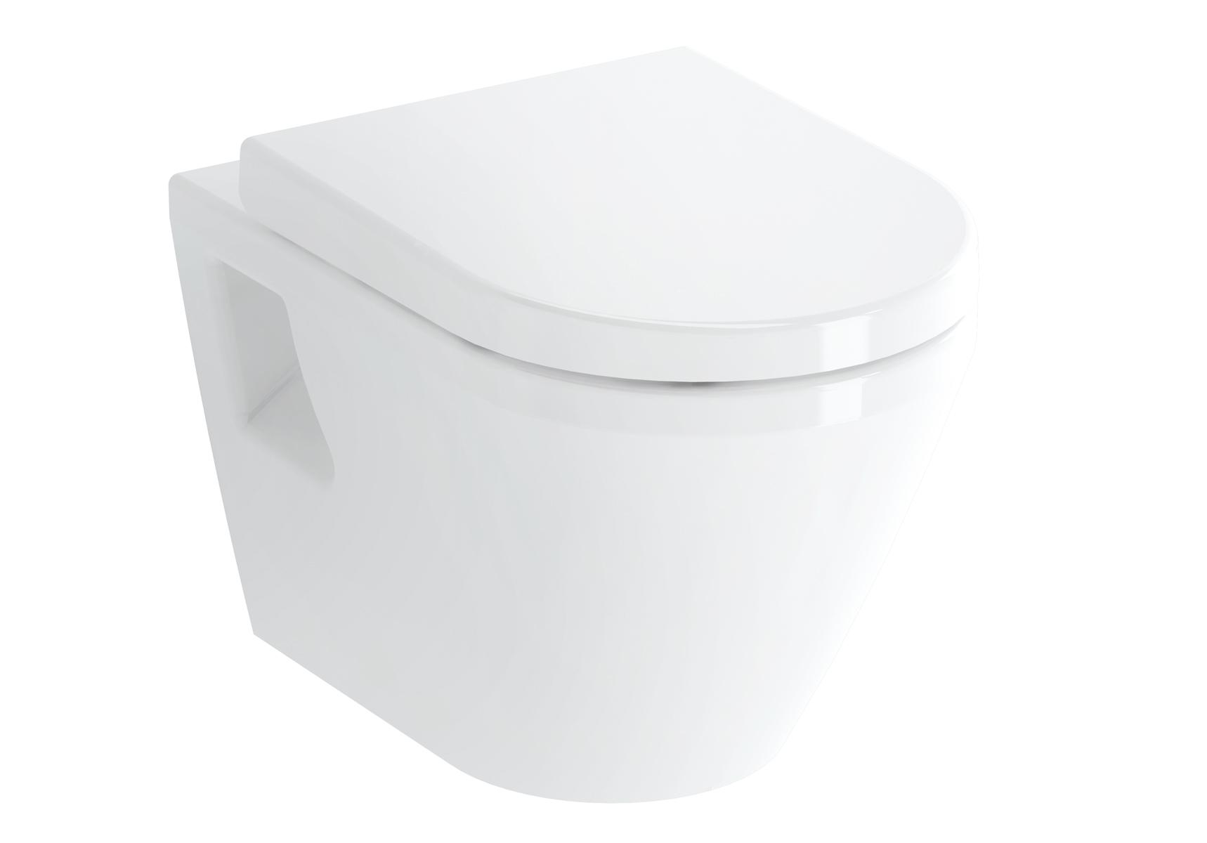 Integra WC suspendu, 54 cm, avec bride