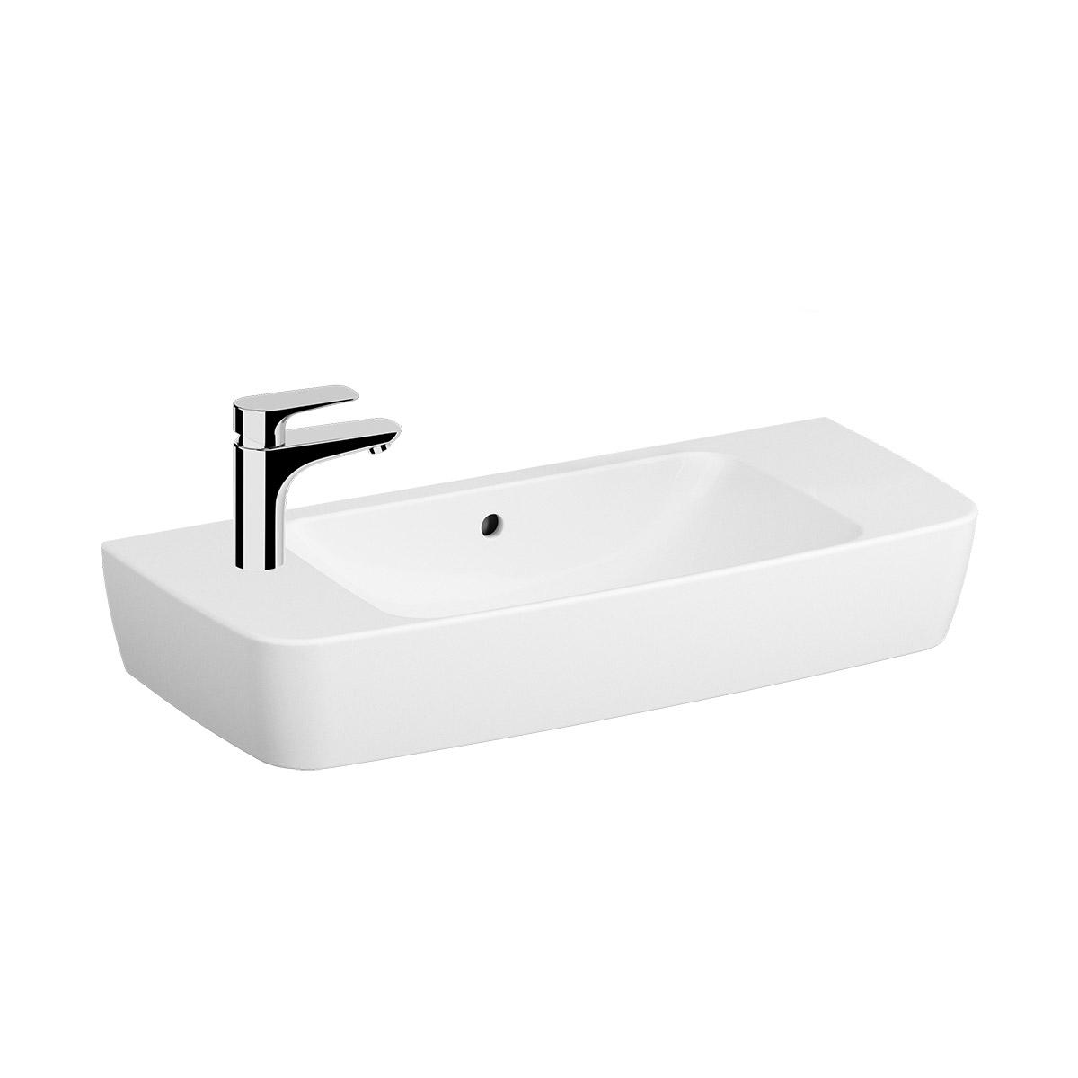 Shift Waschtisch Compact, 80 cm, Weiß