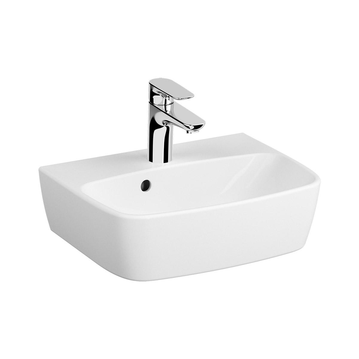 Shift Handwaschbecken 45 cm, Weiß