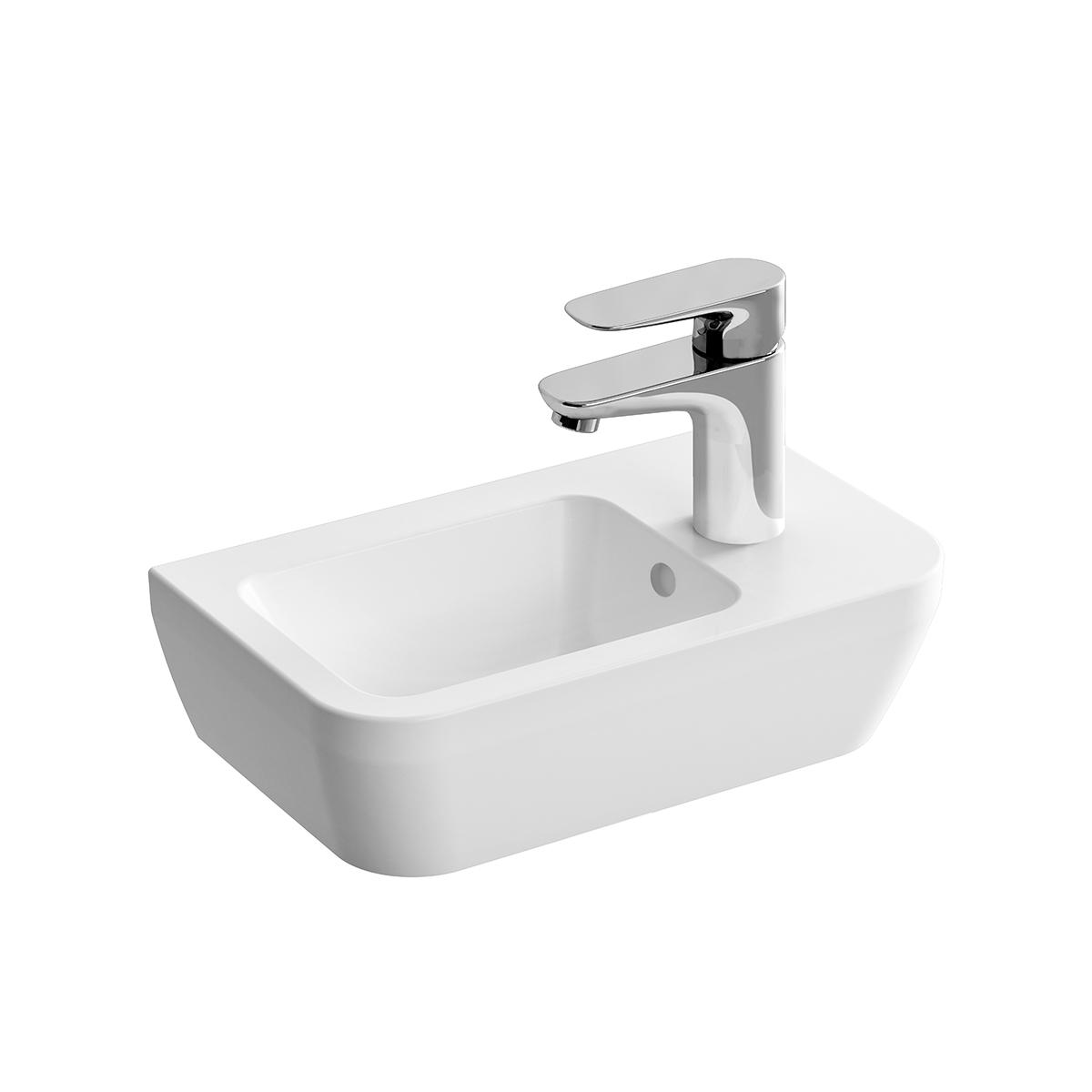 Integra lave-mains, trou de robinet à droite