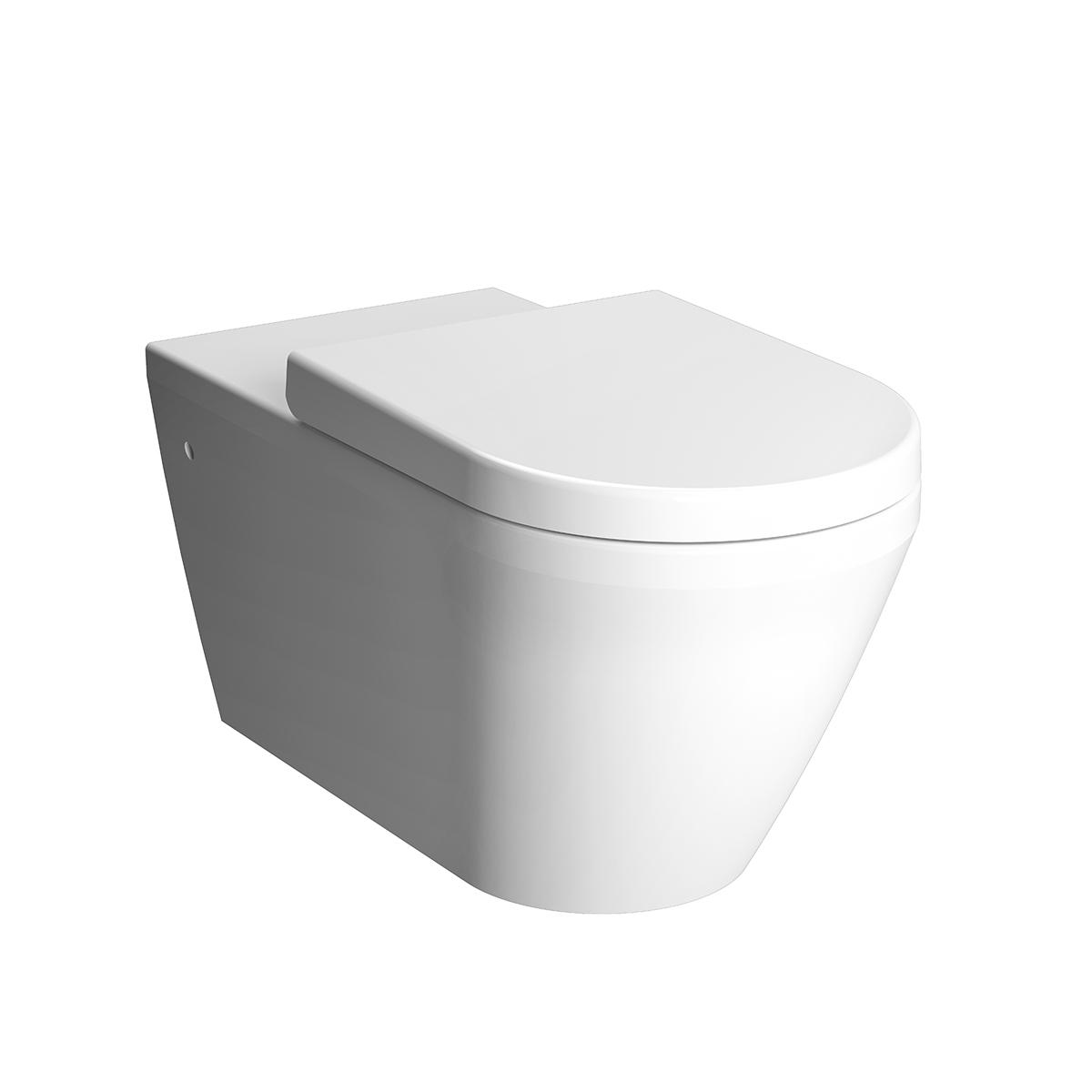Integra WC suspendu sans bride, 70 cm, fonction bidet