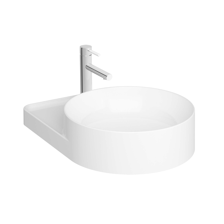 Voyage vasque à poser, 38 cm avec trou de robinet