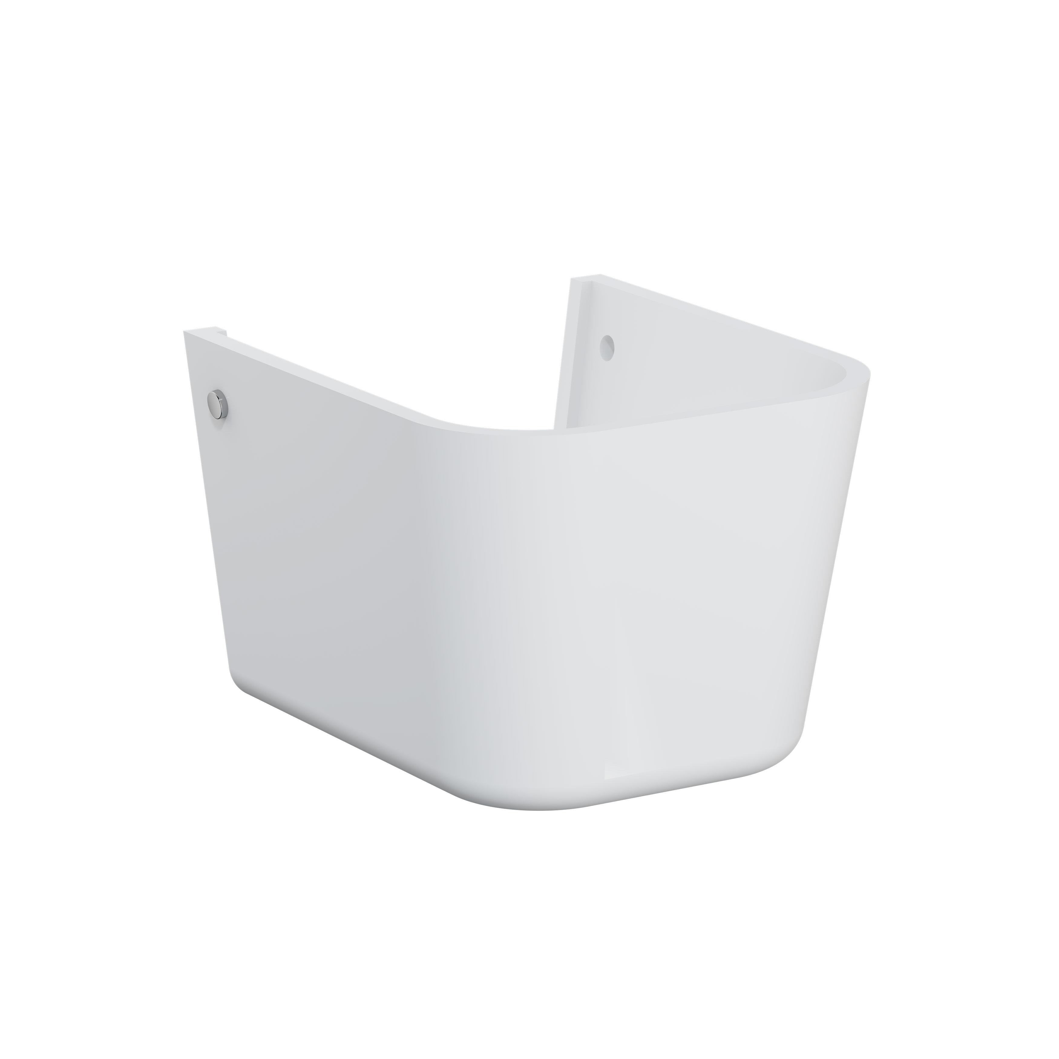 Sento Kids cache-siphon, pour lavabo, blanc