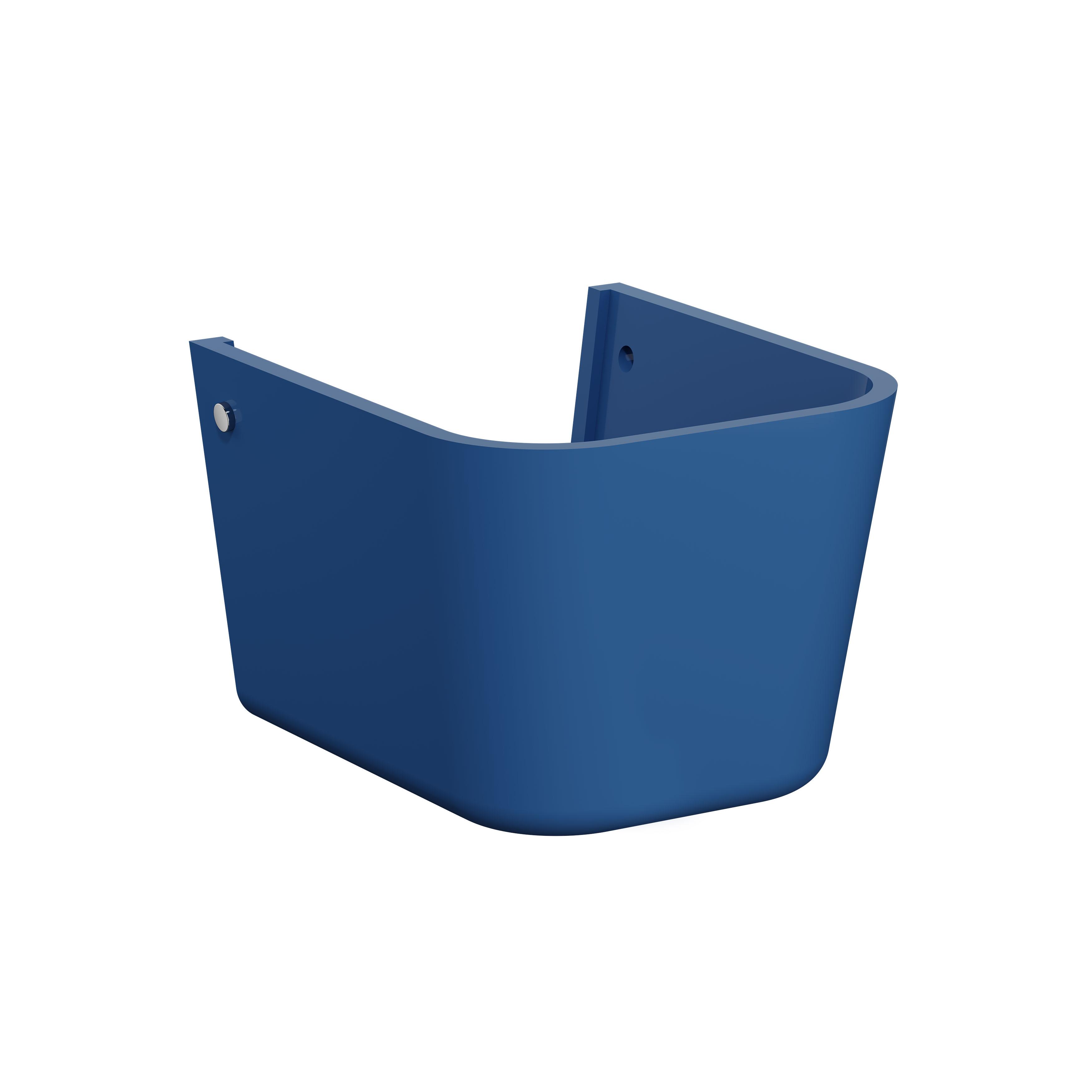 Sento Kids cache-siphon, pour lavabo, bleu