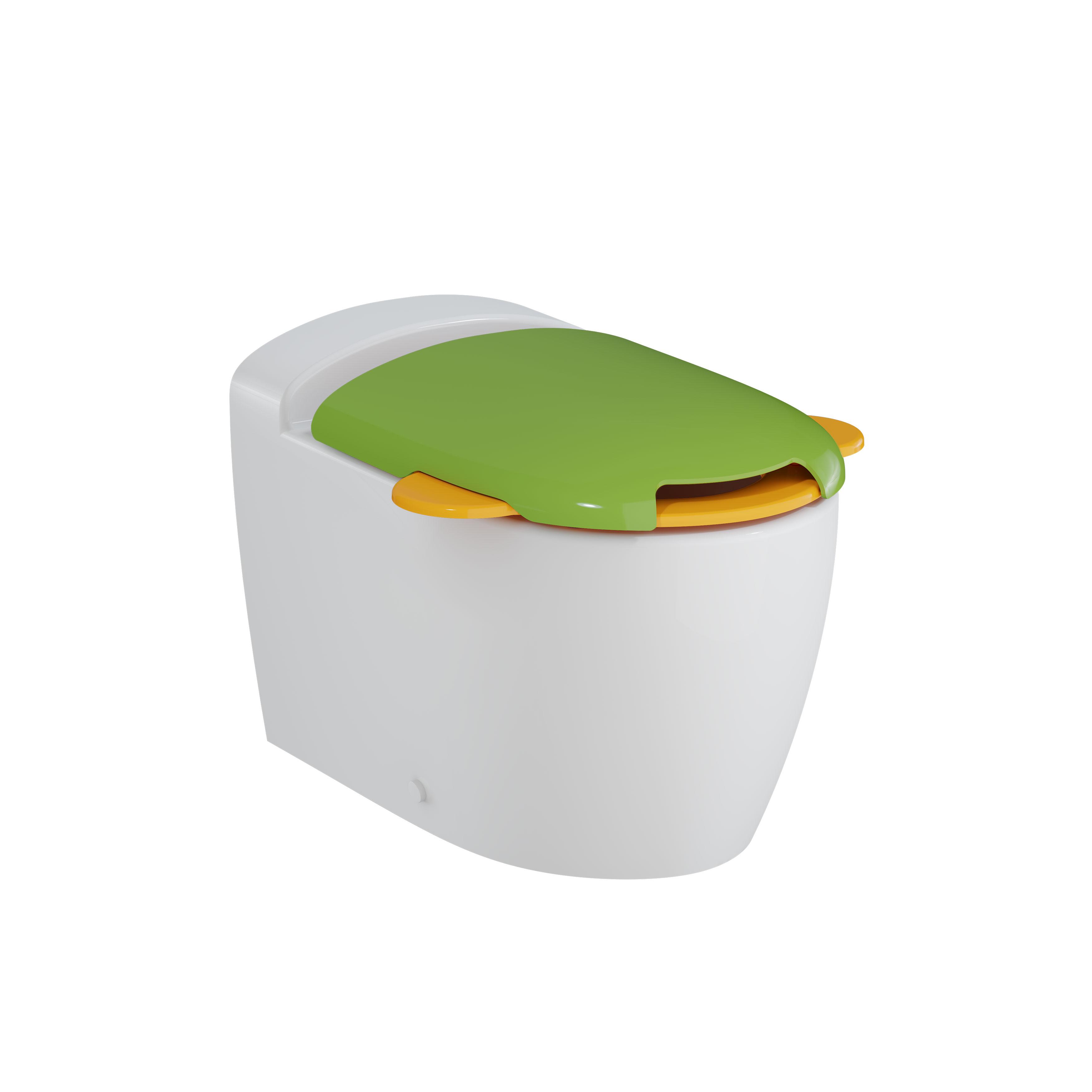 Sento Kids WC à poser sans bride (Smooth Flush), BTW