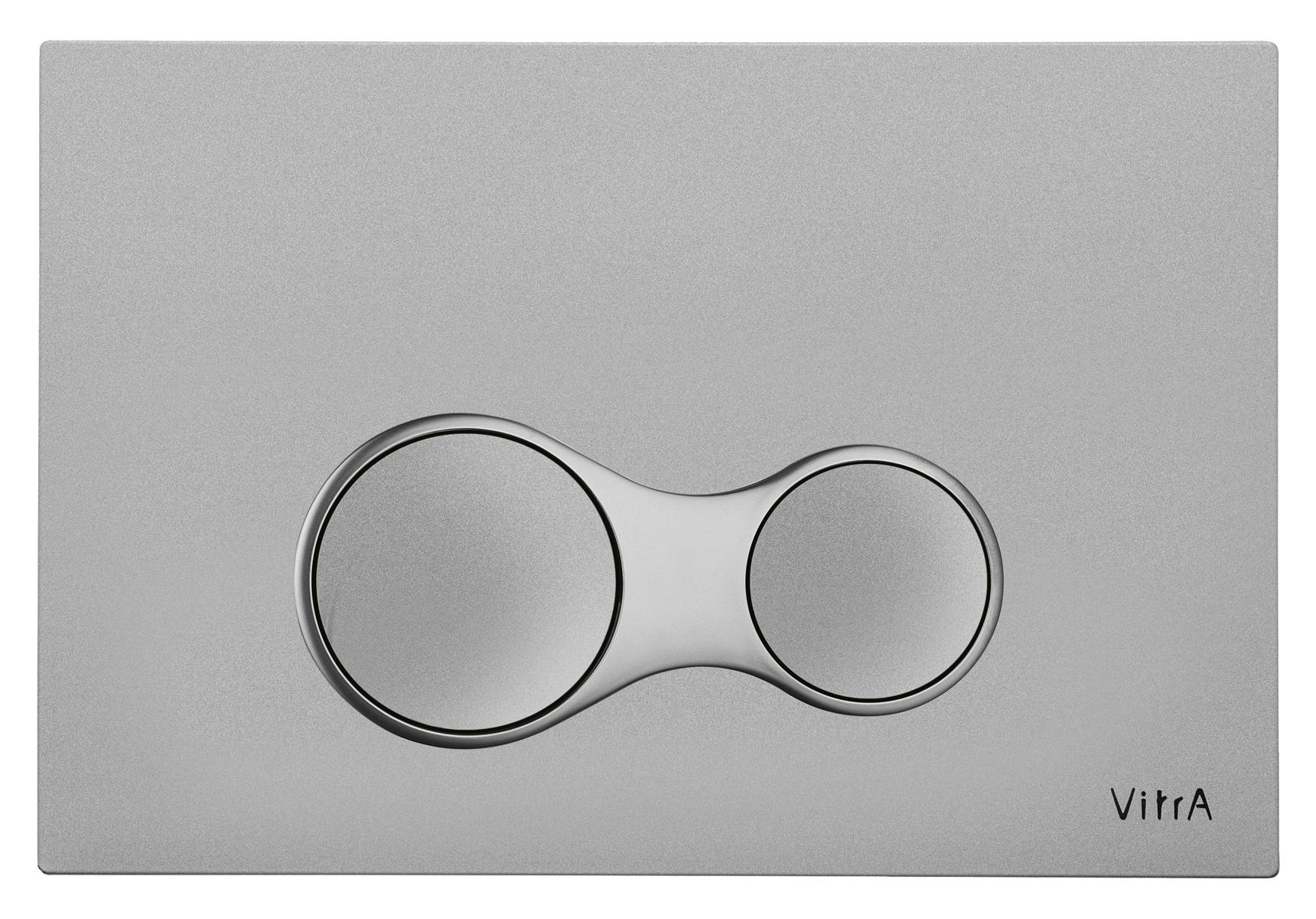 Sirius Panneau de commande 3/6 l, modèle mecanique, chromé mat anti trace
