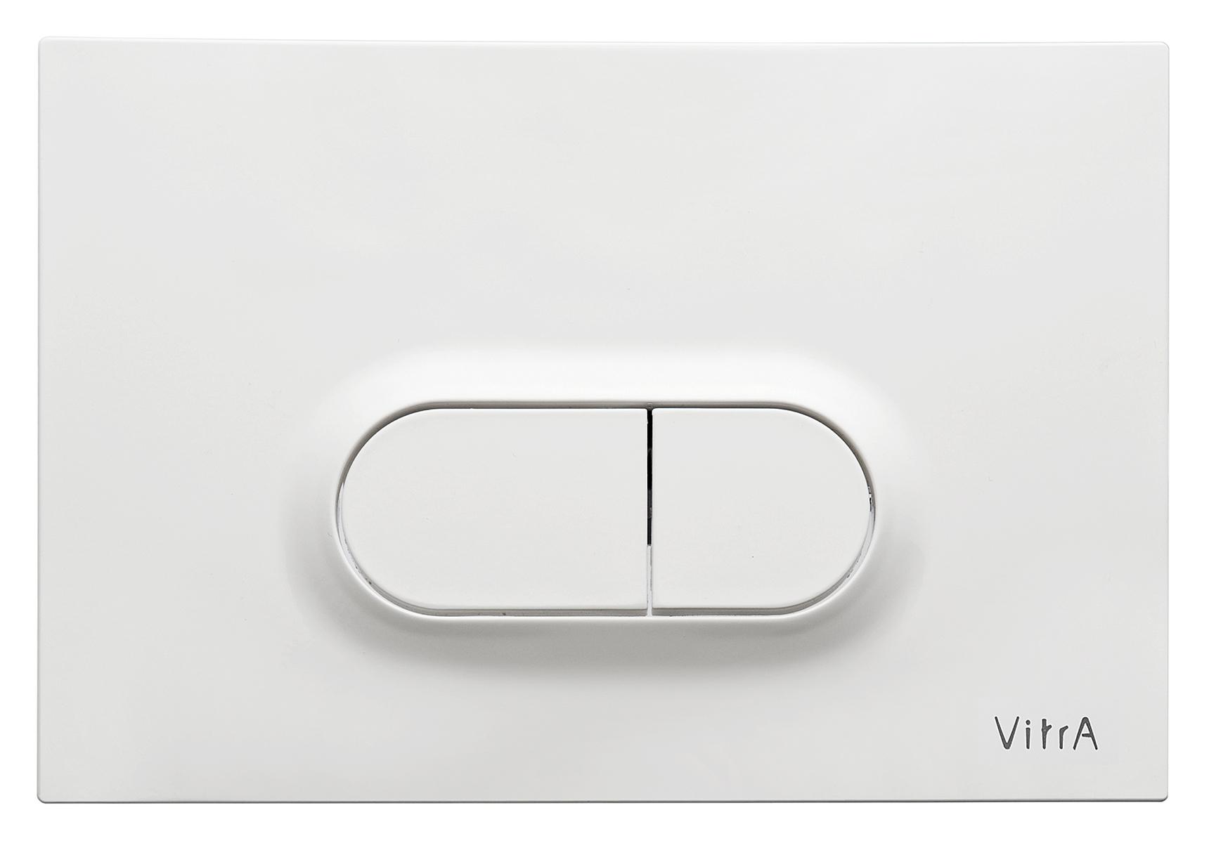 Loop O, panneau de commande 3/6 l, modèle mecanique, blanc brillant
