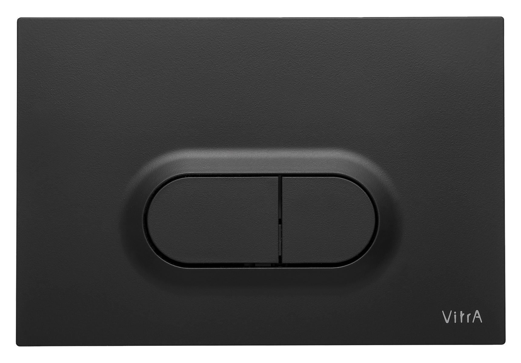 Loop O, panneau de commande 3/6 l, modèle mecanique, noir mat