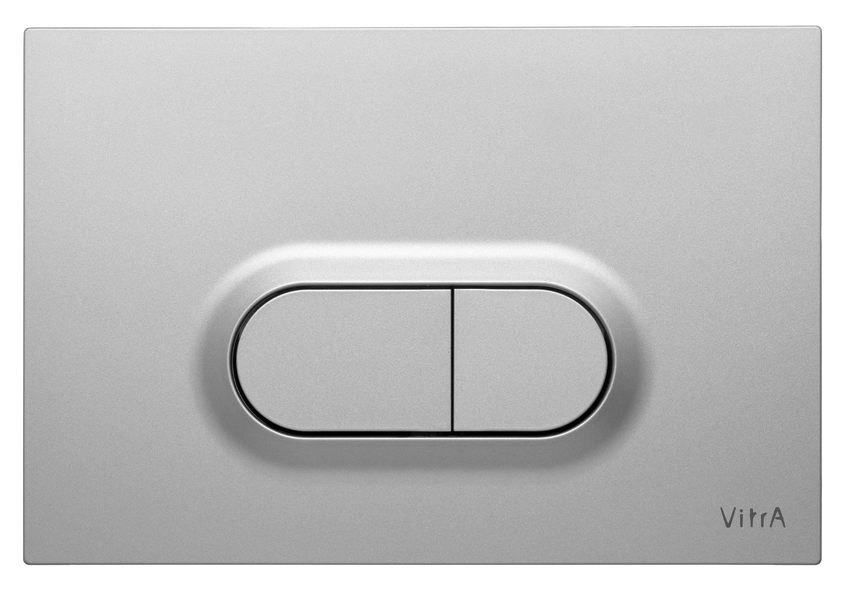 Loop O, panneau de commande 3/6 l, modèle mecanique, chromé mat anti trace