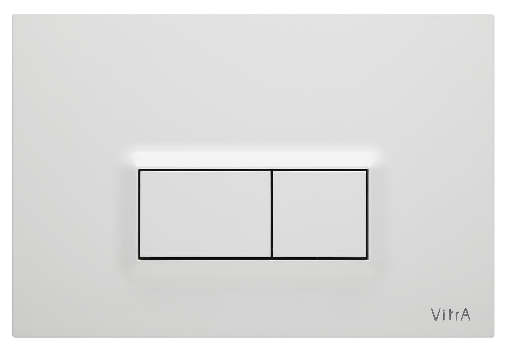 Loop R, panneau de commande 3/6 l, modèle mecanique, blanc brillant