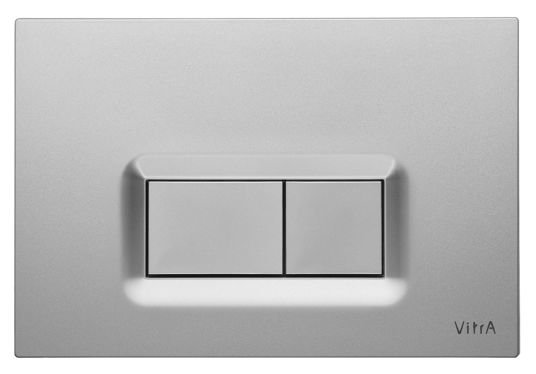 Loop R, panneau de commande 3/6 l, modèle mecanique, chromé mat anti trace