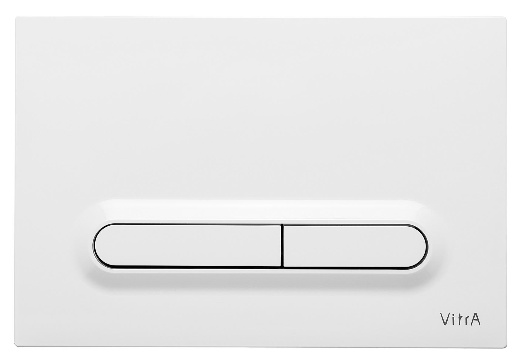 Loop T, panneau de commande 3/6 l, modèle mecanique, blanc brillant