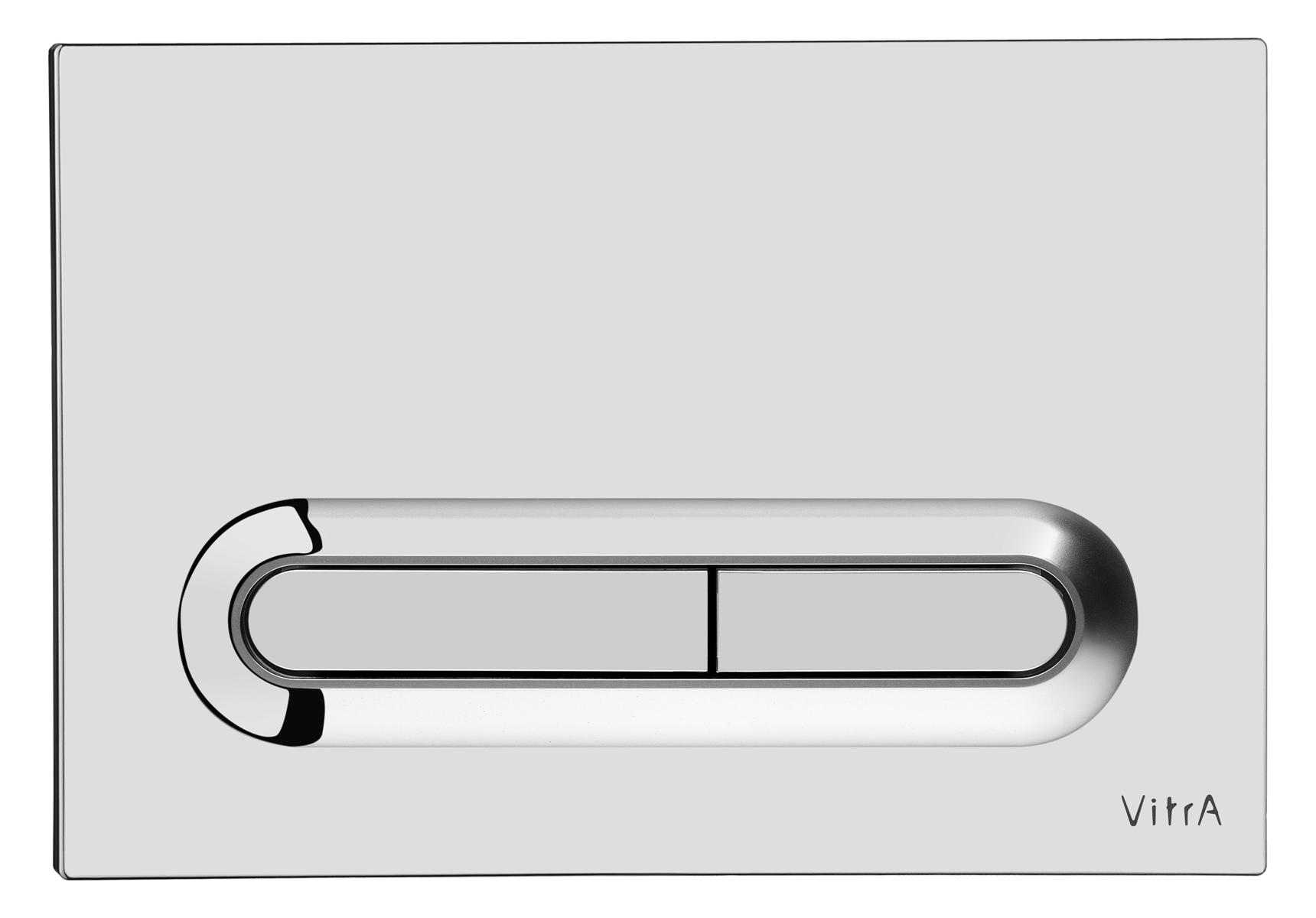 Loop T, panneau de commande 3/6 l, modèle mecanique, chromé