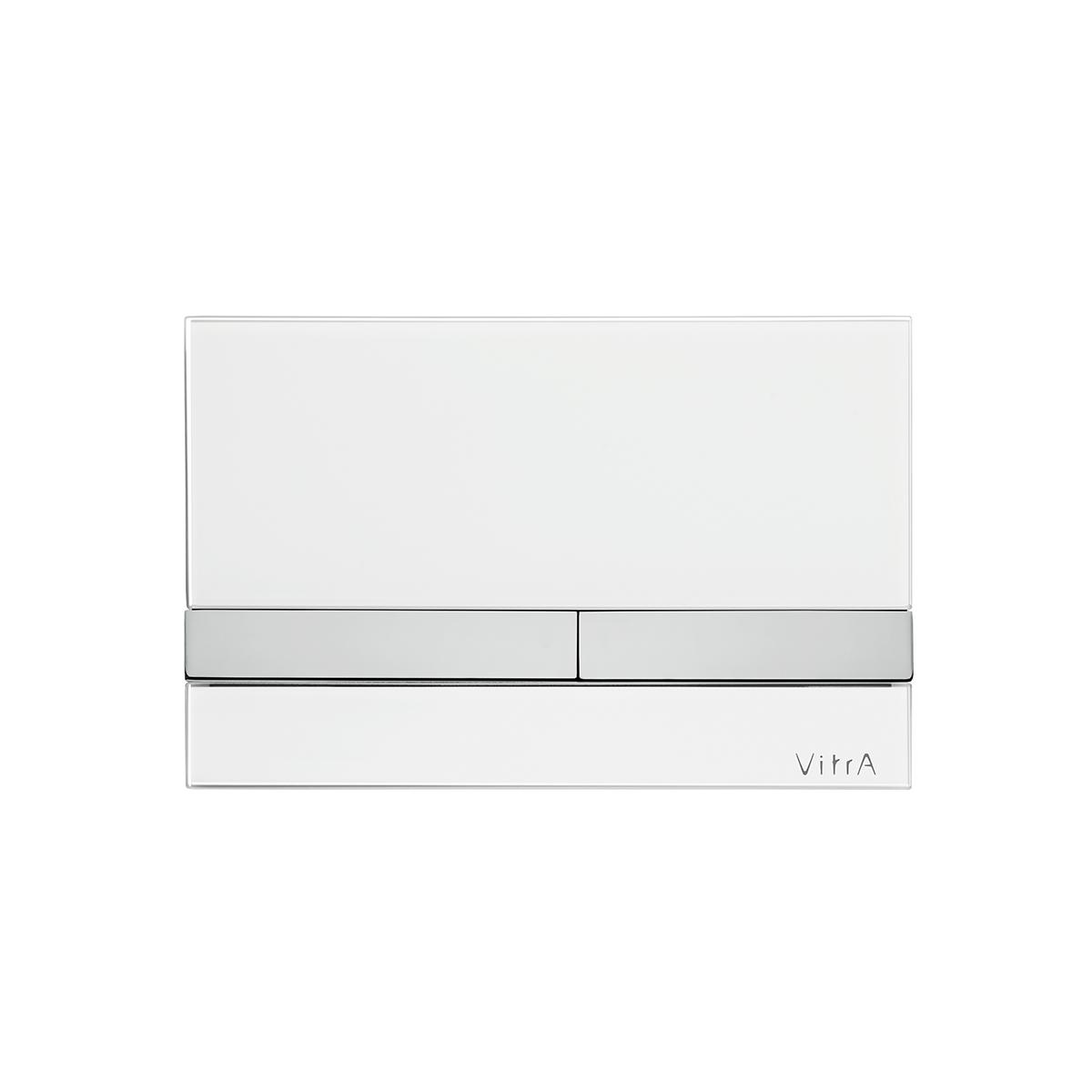 Select panneau de commande 3/6 l modèle mecanique, 24,4  x  16,5 cm, blanc