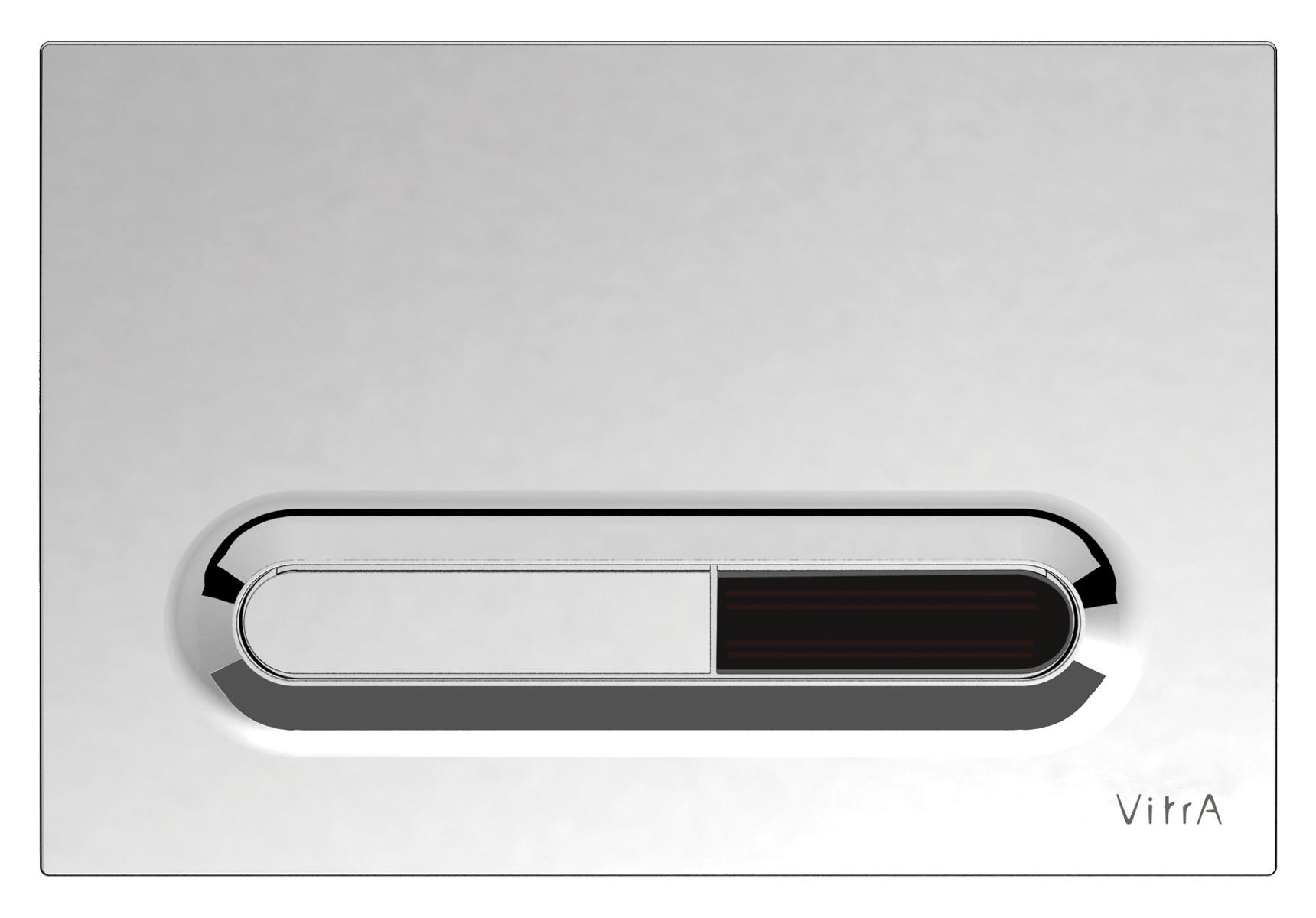 Loop T, photocellule, panneau de commande 3/6 l, modèle mecanique, chromé