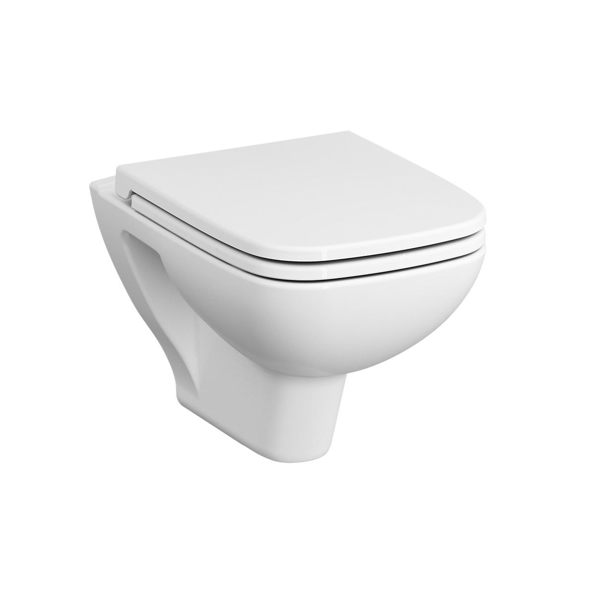 S20 WC suspendu, sans bride, avec fonction bidet, blanc