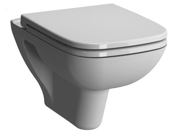 S20 Pack WC suspendu sans bride, abattant sans fermeture douce