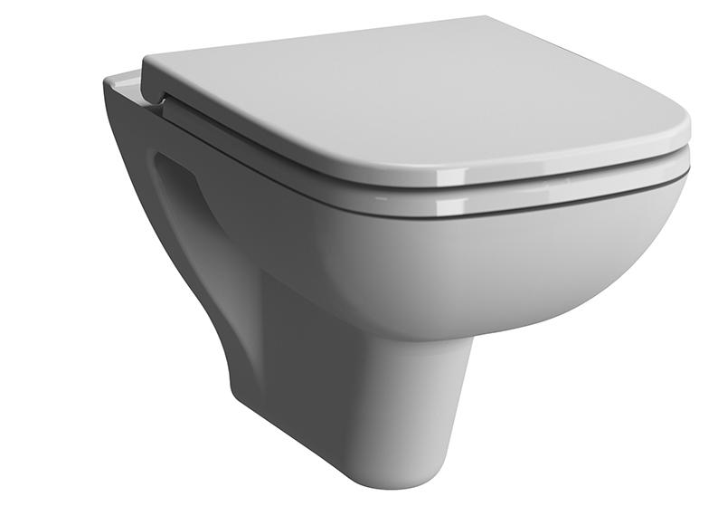 S20 Wand-WC ohne Spülrand mit Bidetfunktion, Weiß, mit VitrA Clean