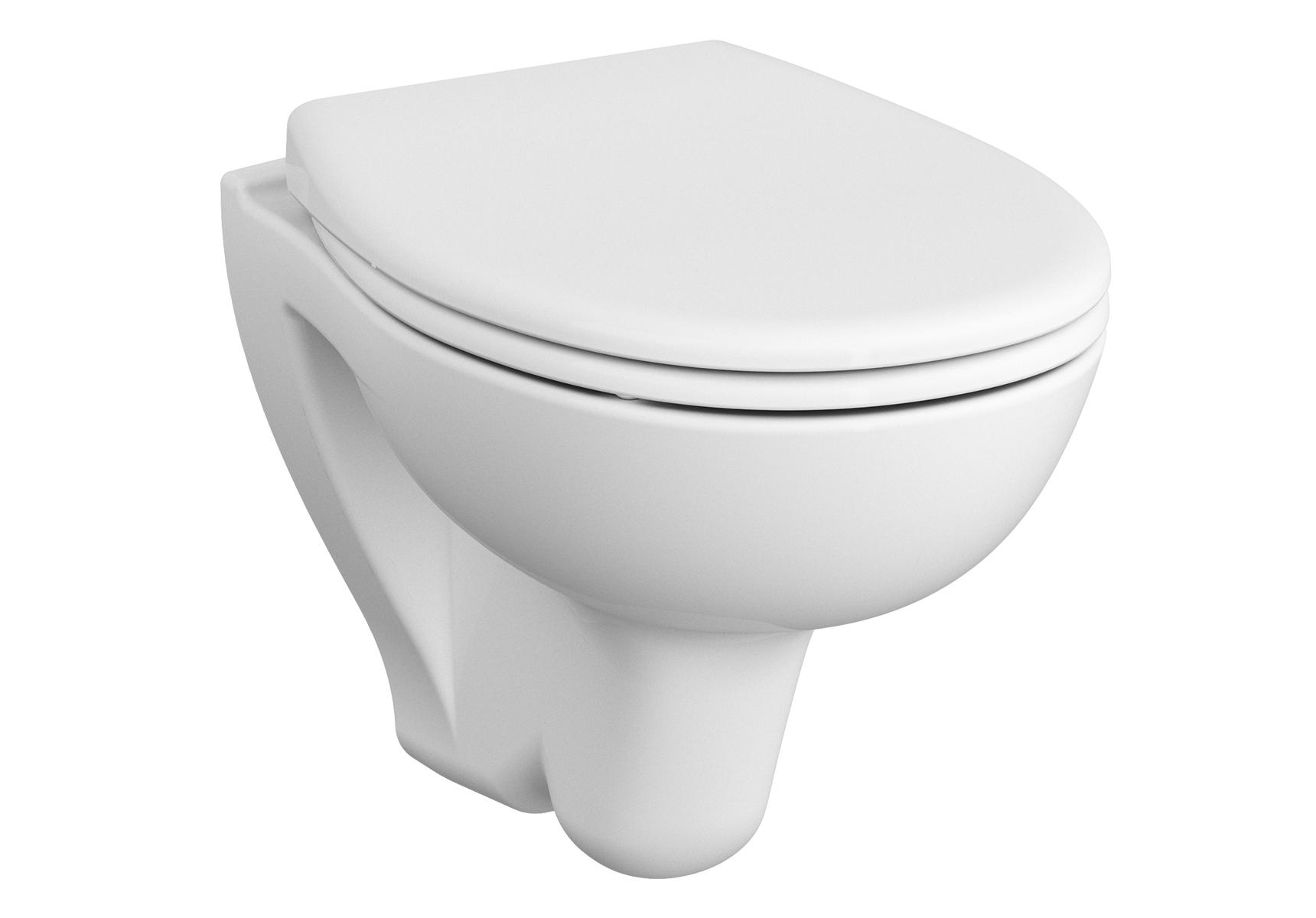 S20 WC suspendu compact, avec bride, 48,5 cm, blanc