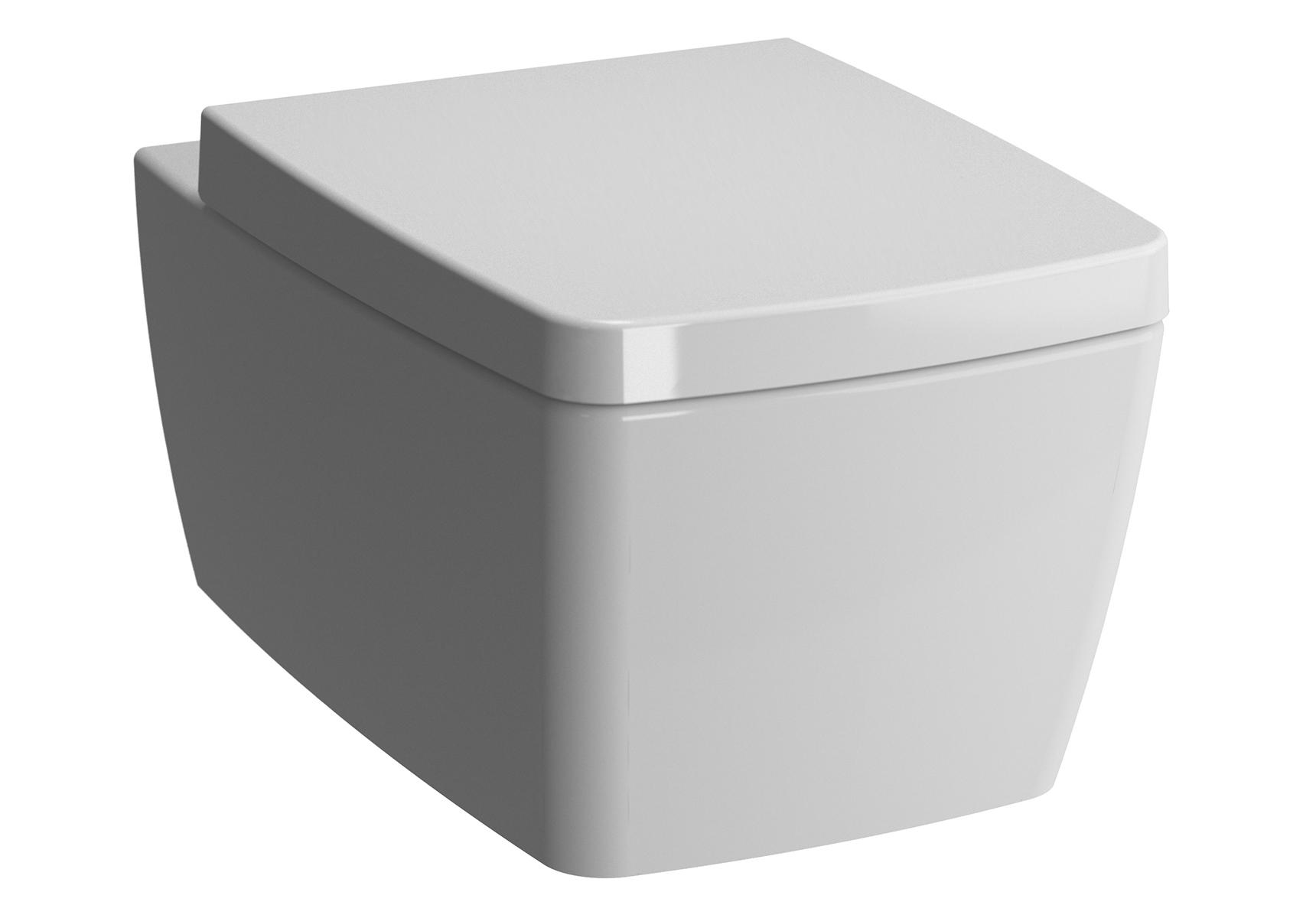 Metropole Pack WC suspendu abattant Duroplast, fermeture douce