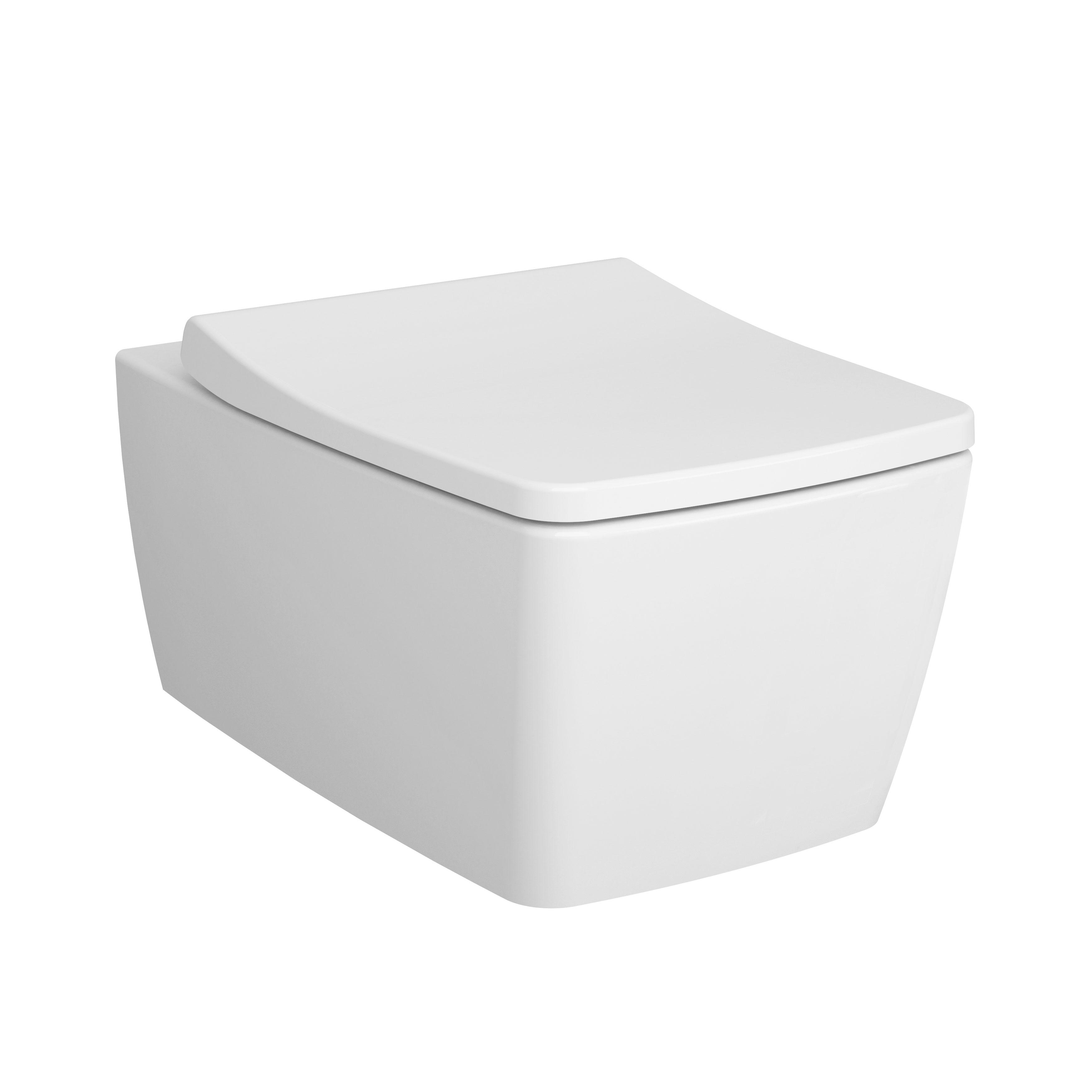 Metropole Pack WC suspendu, abattant Duroplast, fermeture douce, blanc