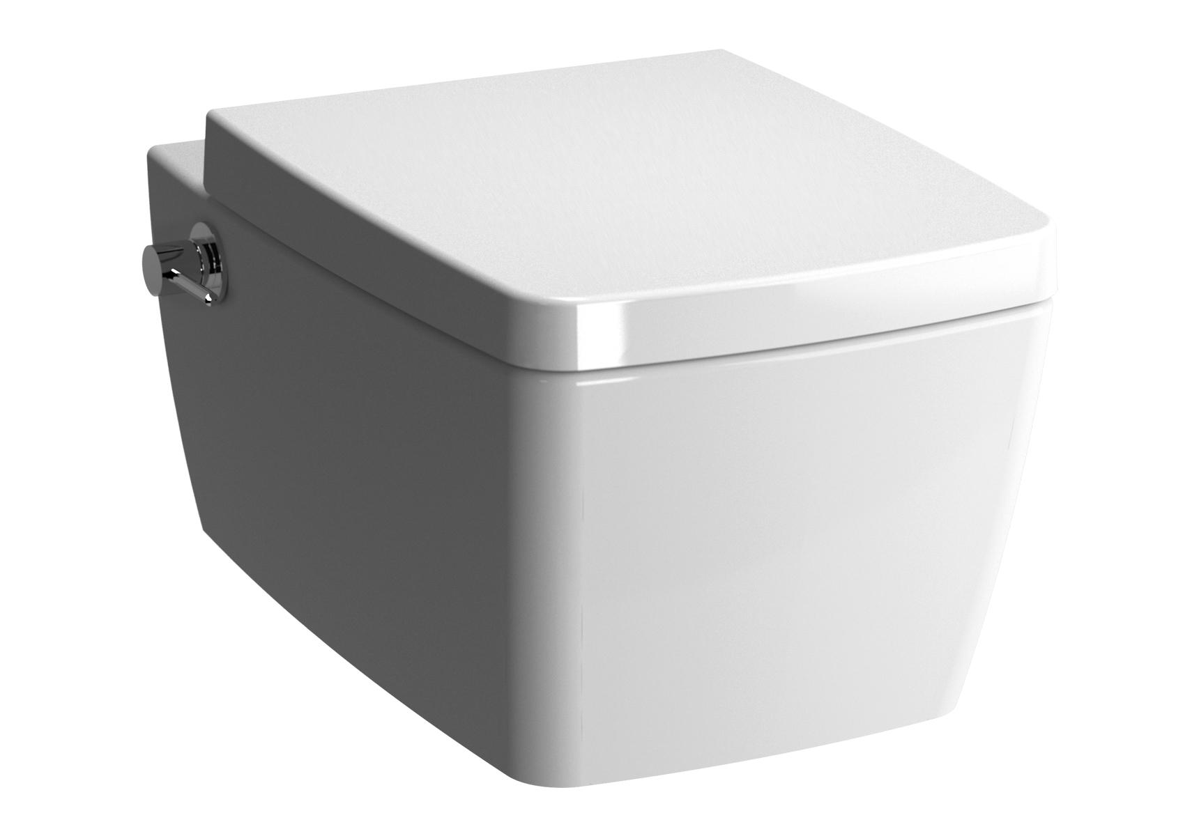 Metropole WC suspendu, 56 cm, fonction bidet