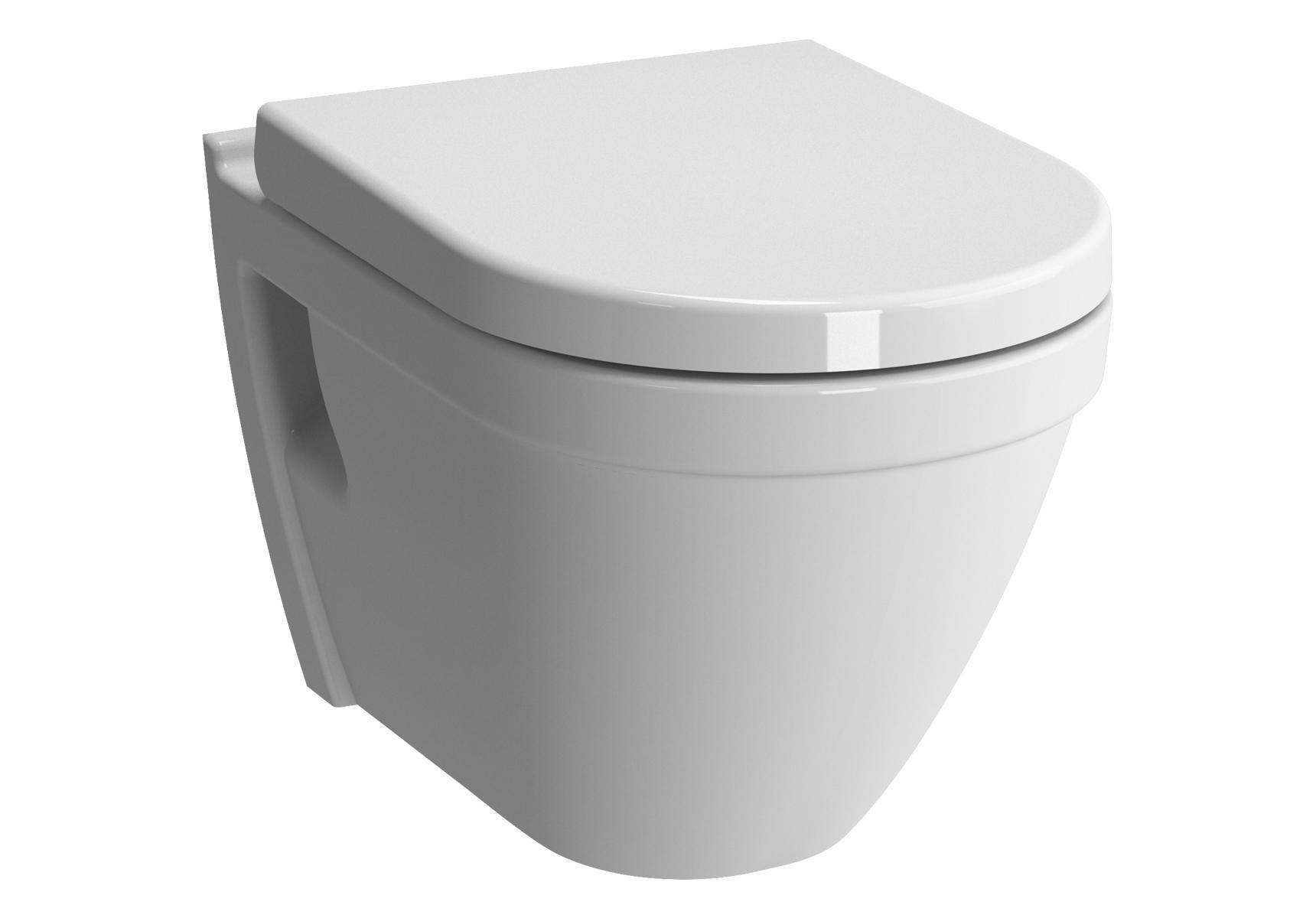 S50 WC suspendu, avec fonction bidet, 52 cm, avec fixation latéral