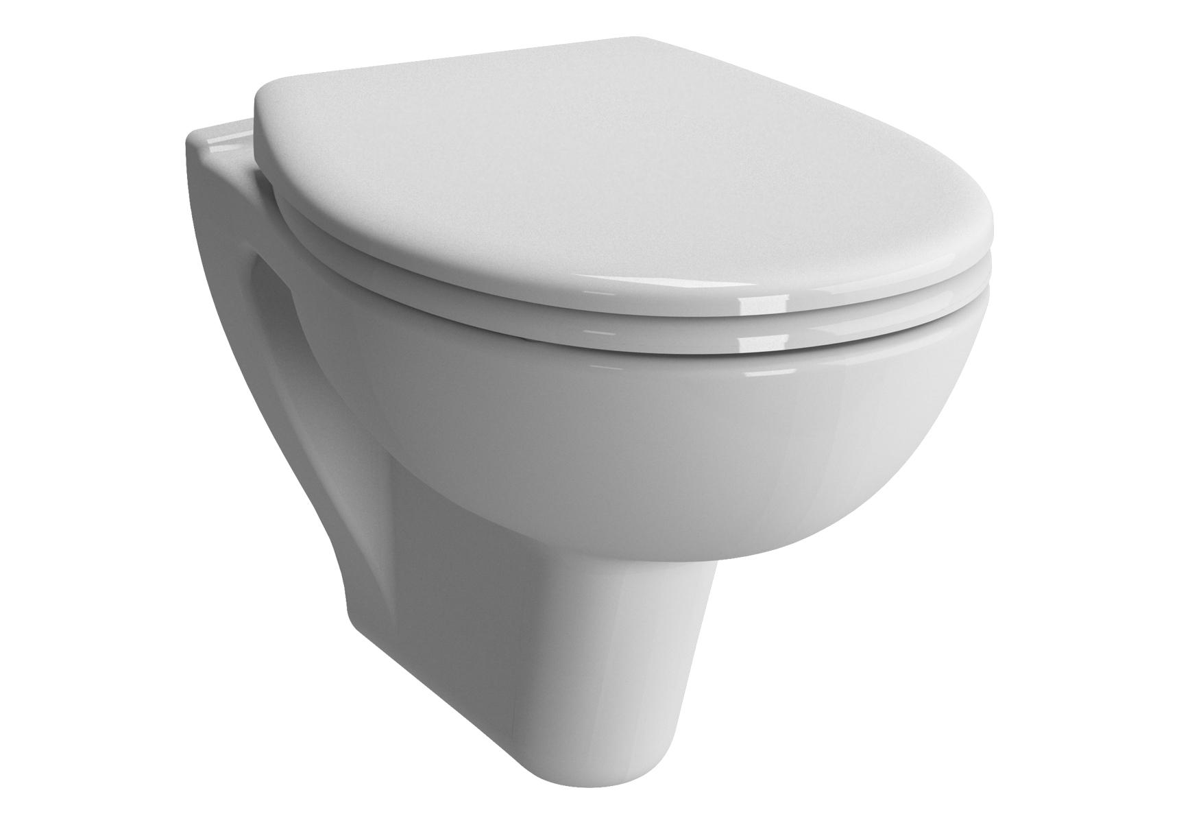 S20 Pack WC suspendu sans bride, 52 cm, abattant Duroplast
