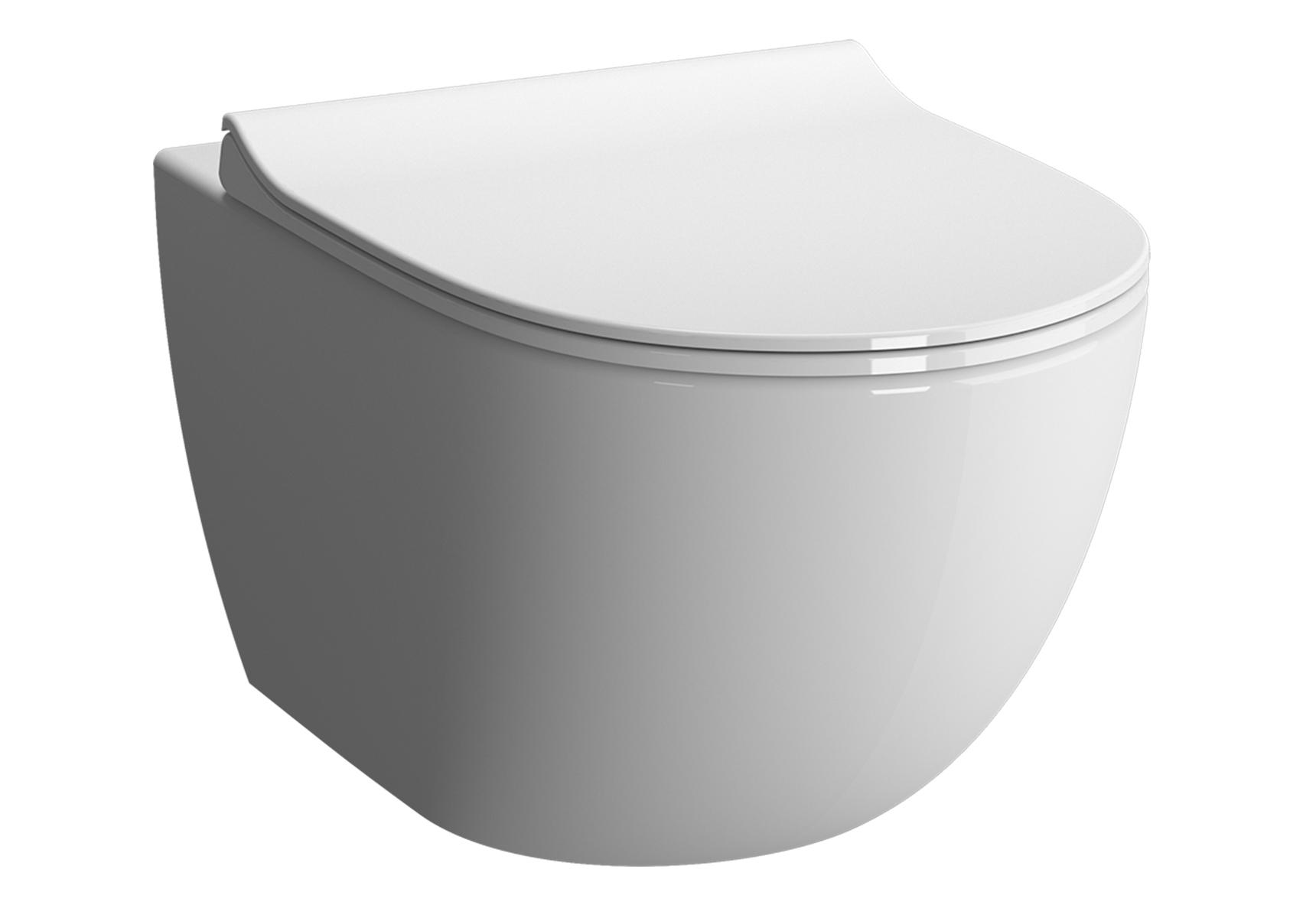 Sento Wand-WC VitrA Flush 2.0 Compact mit Bidetfunktion