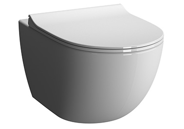 Sento WC suspendu, 54 cm, blanc