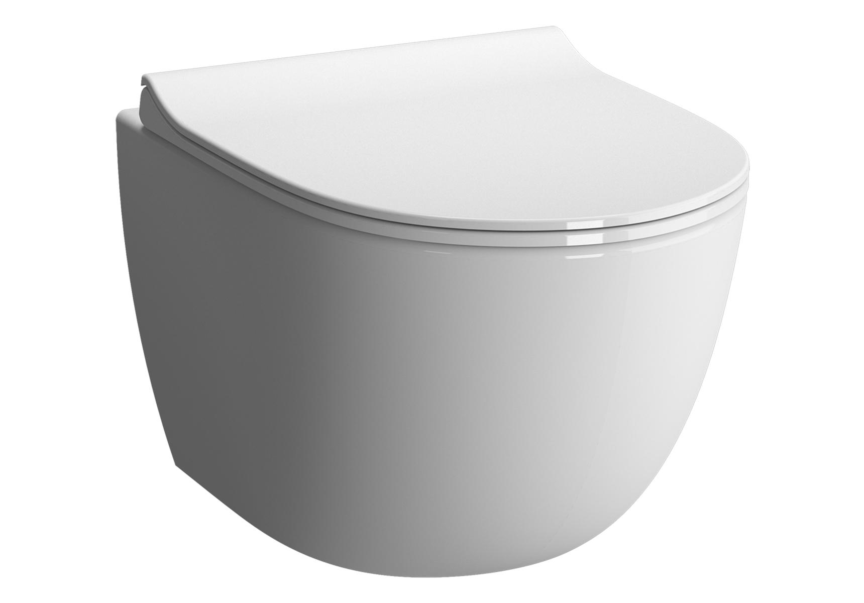 Sento Pack WC suspendu, 54 cm, abattant Slim Duroplast
