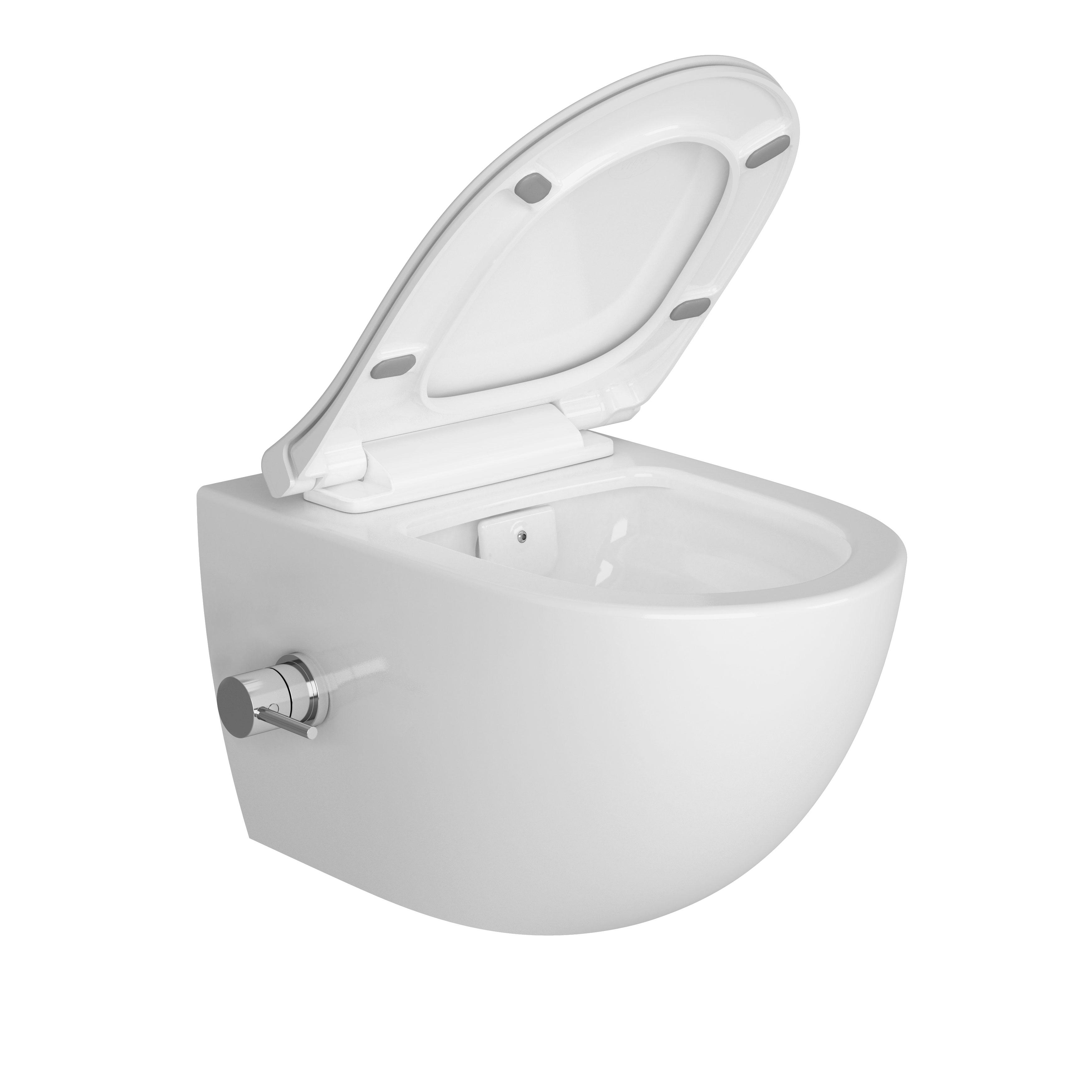 Sento Aquacare, avec robinet thermostatique intégré, blanc