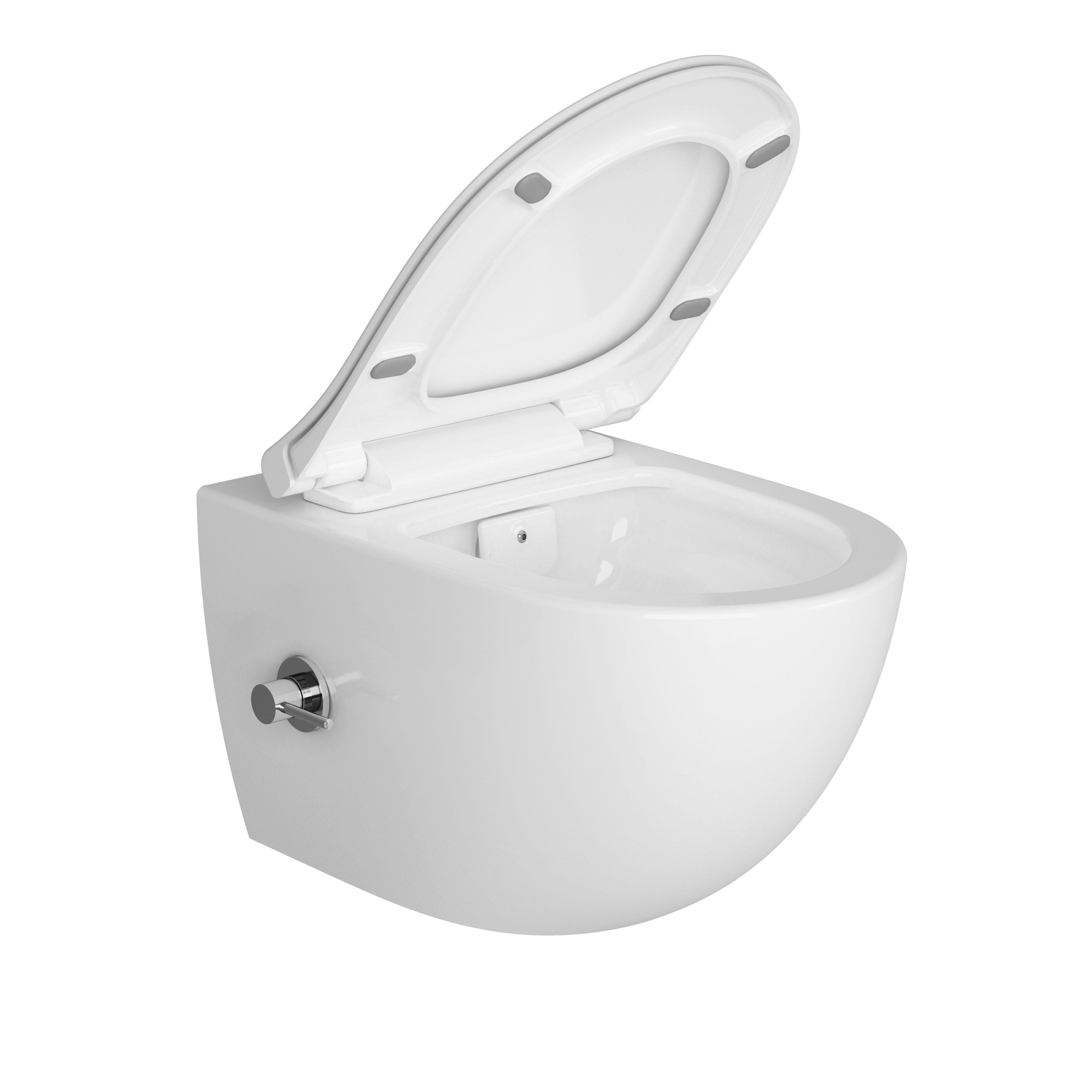 Sento Aquacare, avec robinet intégré, blanc
