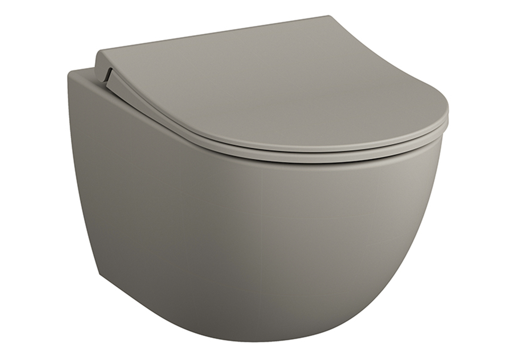 Sento Wand-WC VitrA Flush 2.0, Taupe Matt