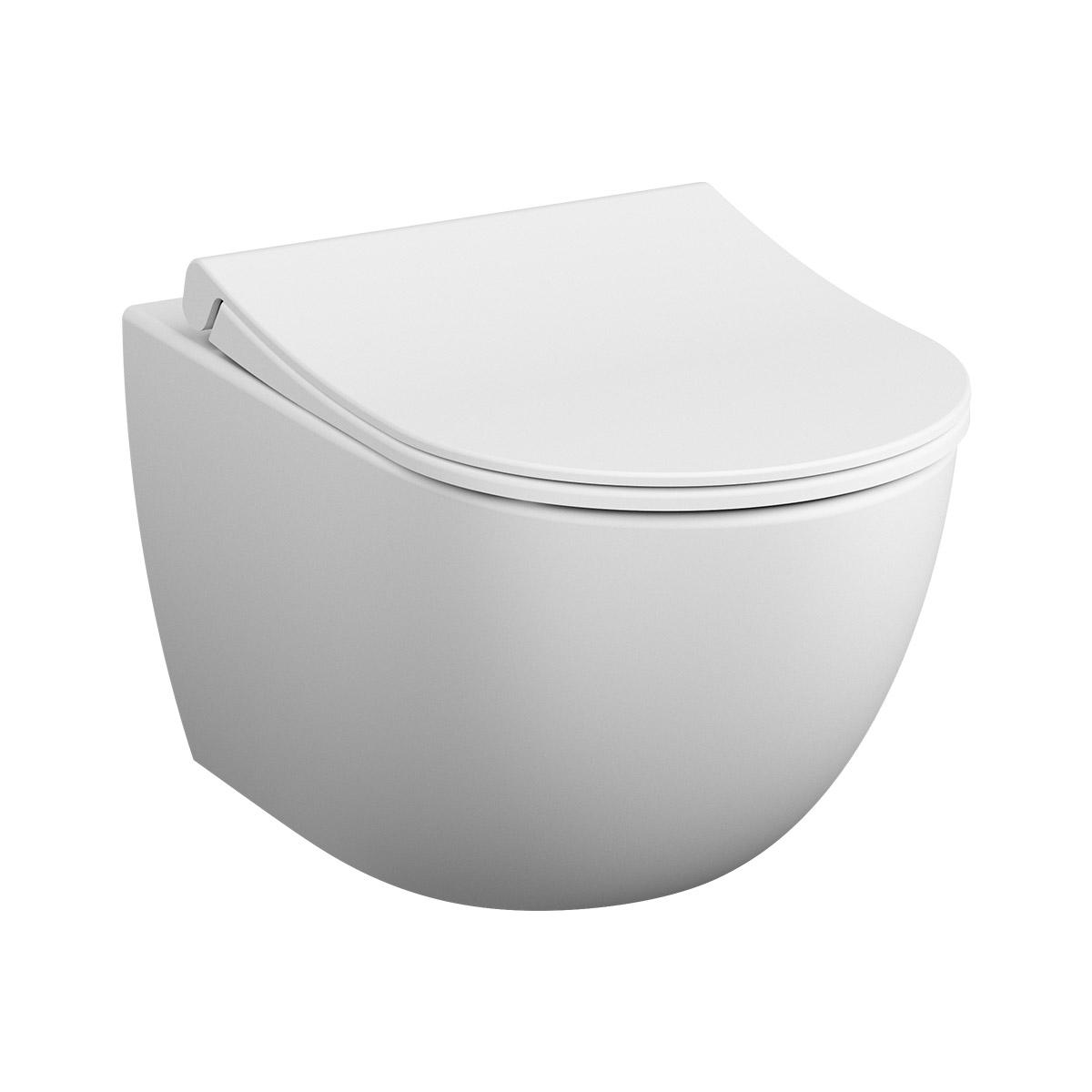 Sento Wand-WC VitrA Flush 2.0 mit Bidetfunktion, Edelweiß