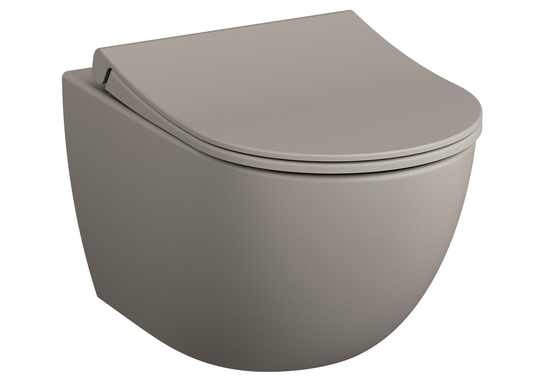 Sento Wand-WC VitrA Flush 2.0 ,Taupe Matt