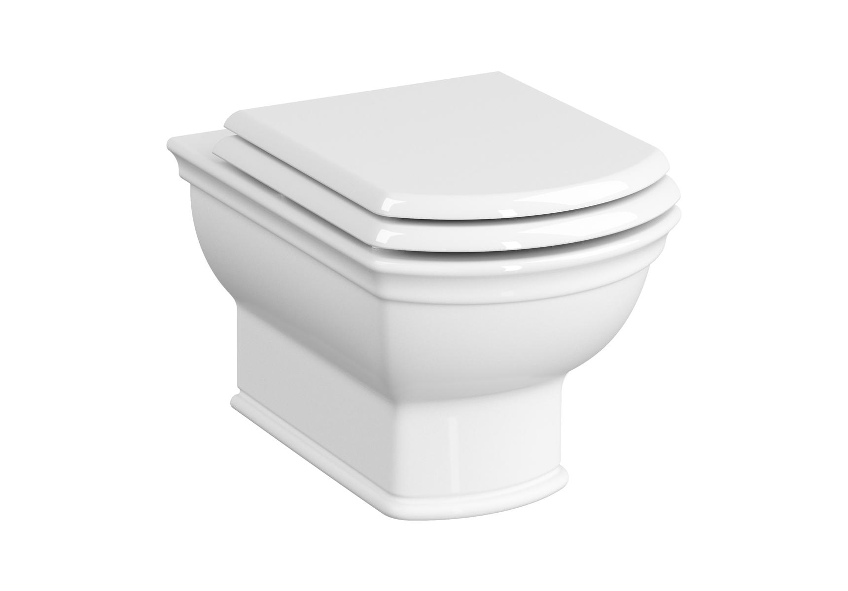 Valarte WC suspendu sans bride, 54 cm, blanc