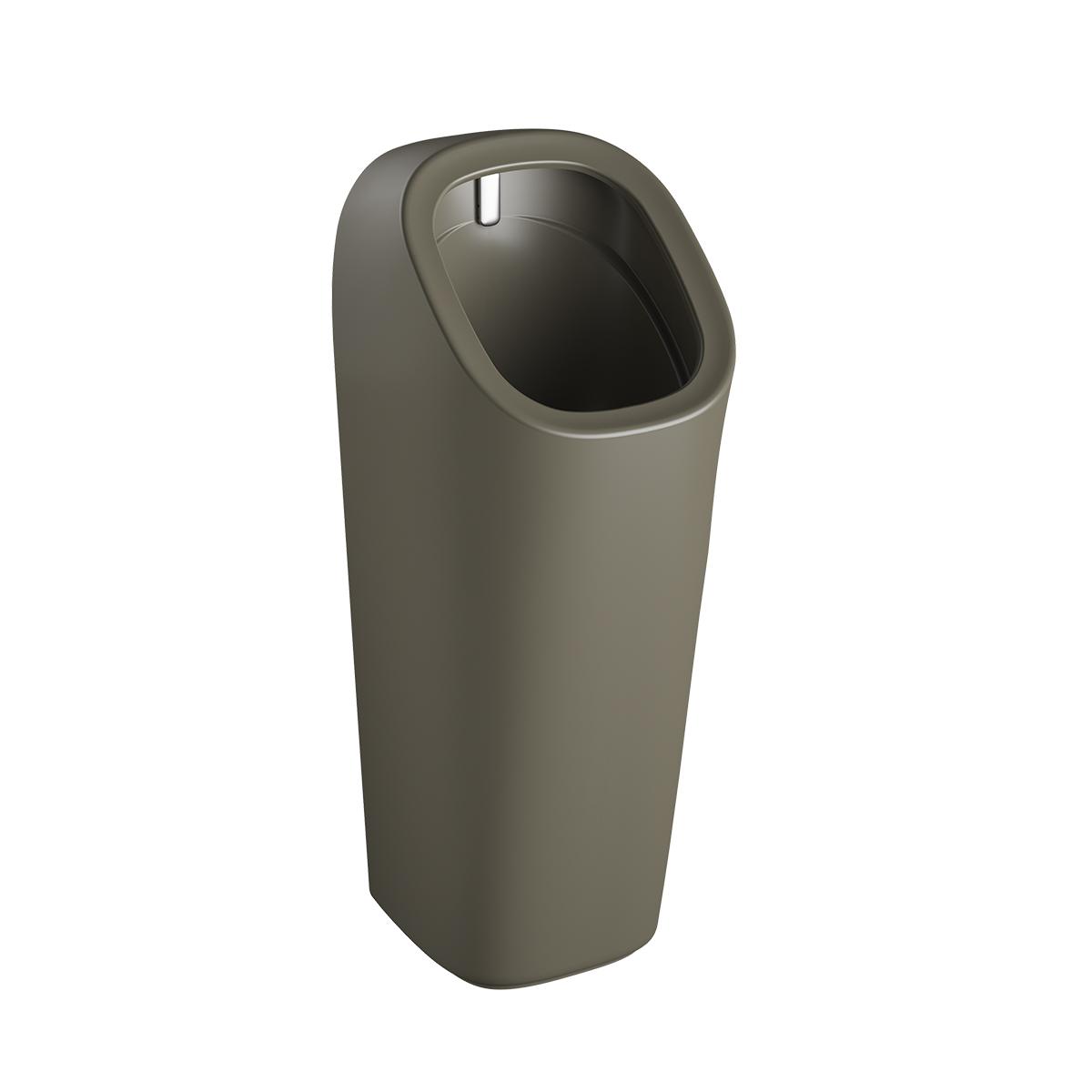Plural Monoblock Urinal Wandmontage batteriebetrieben, Nerz Matt