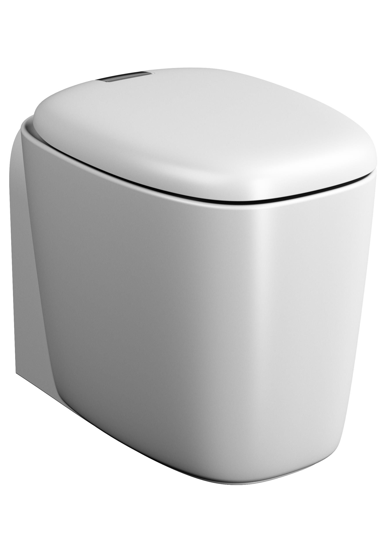 Plural WC BTW sans bride, 55 cm, VC, Edelweiss