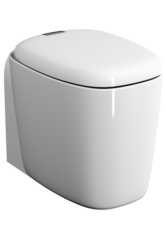 Plural WC BTW sans bride 55 cm, VC, blanc