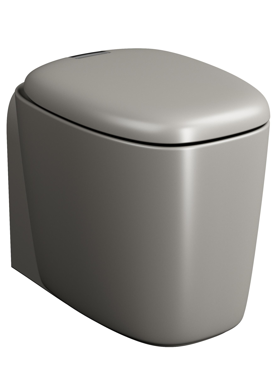 Plural WC BTW sans bride, 55 cm, VC, taupe mat
