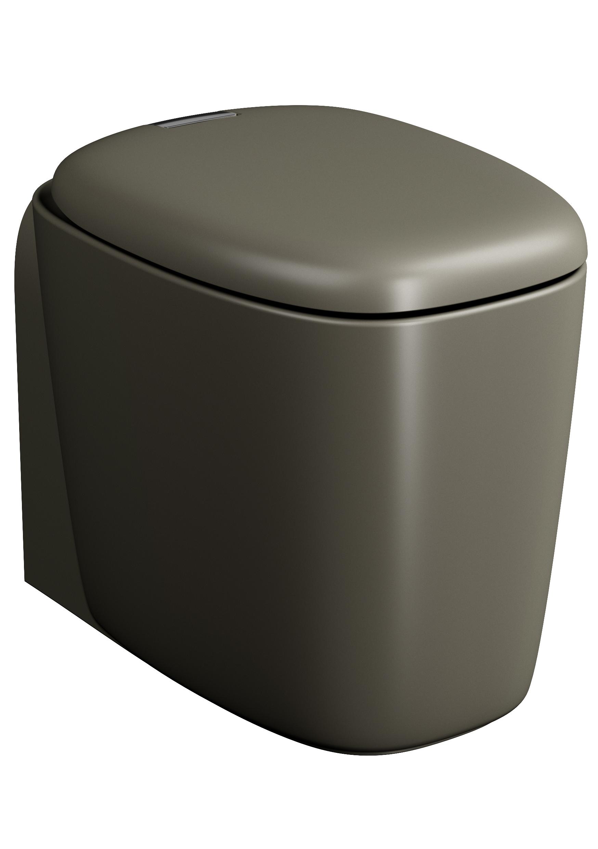 Plural WC BTW sans bride, 55 cm, VC, vison mat