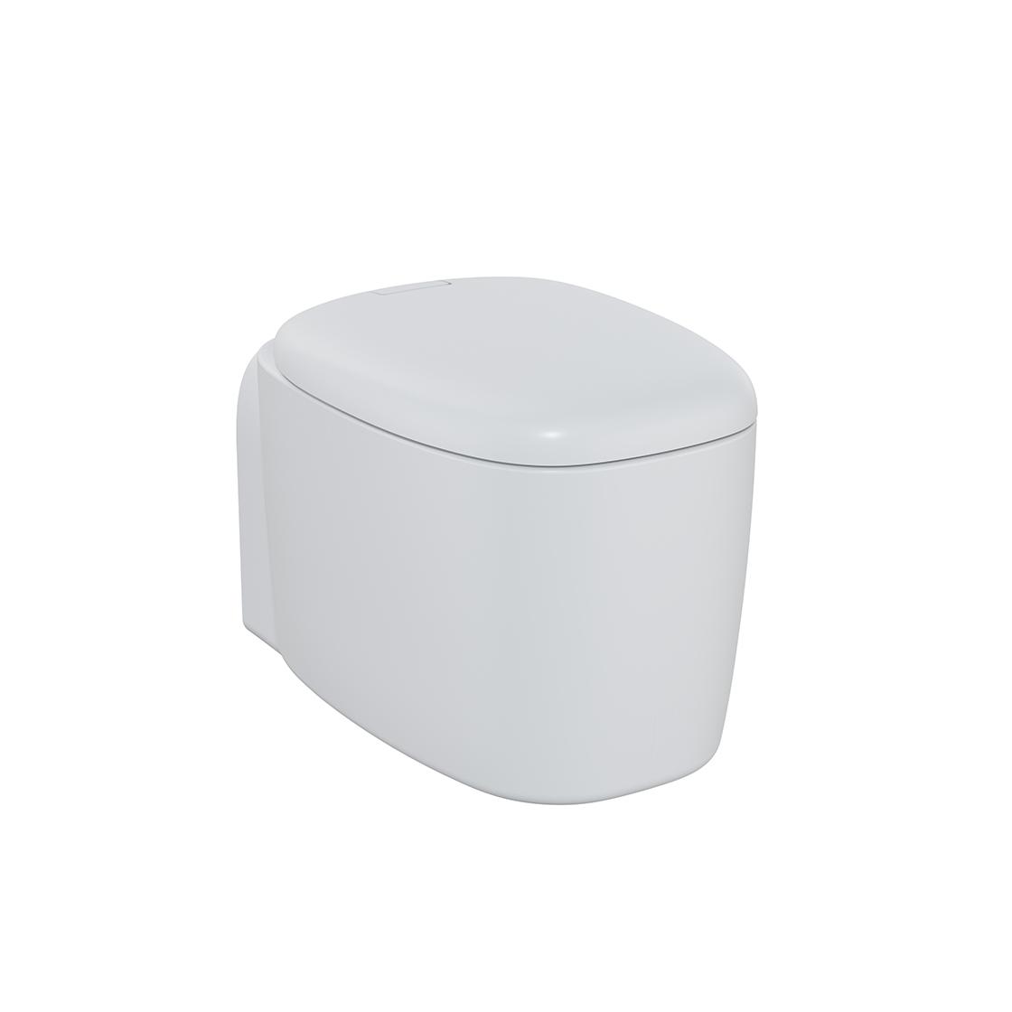 Plural Wand-WC VitrA Flush 2.0, Edelweiß