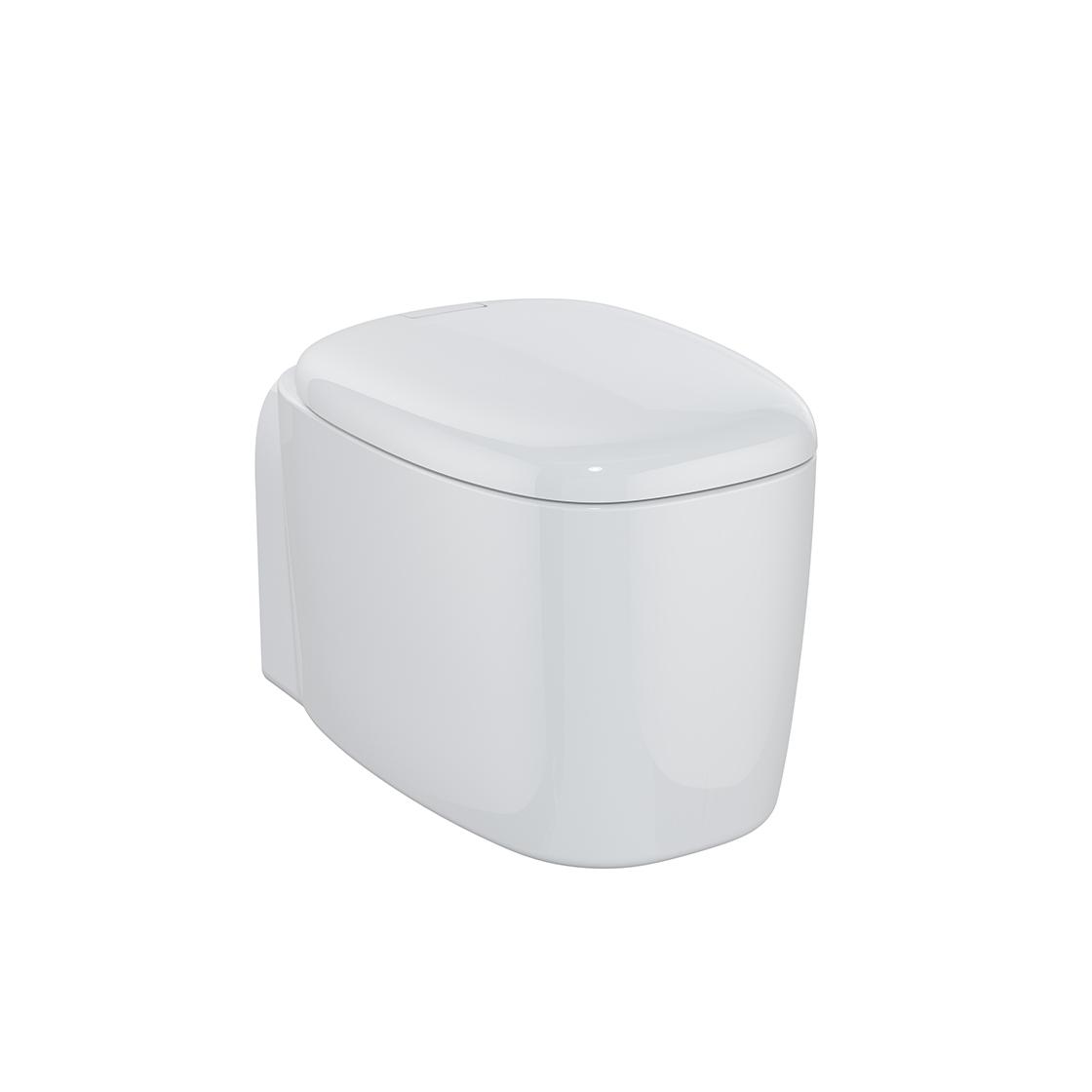 Plural Wand-WC VitrA Flush 2.0, Weiß Hochglanz