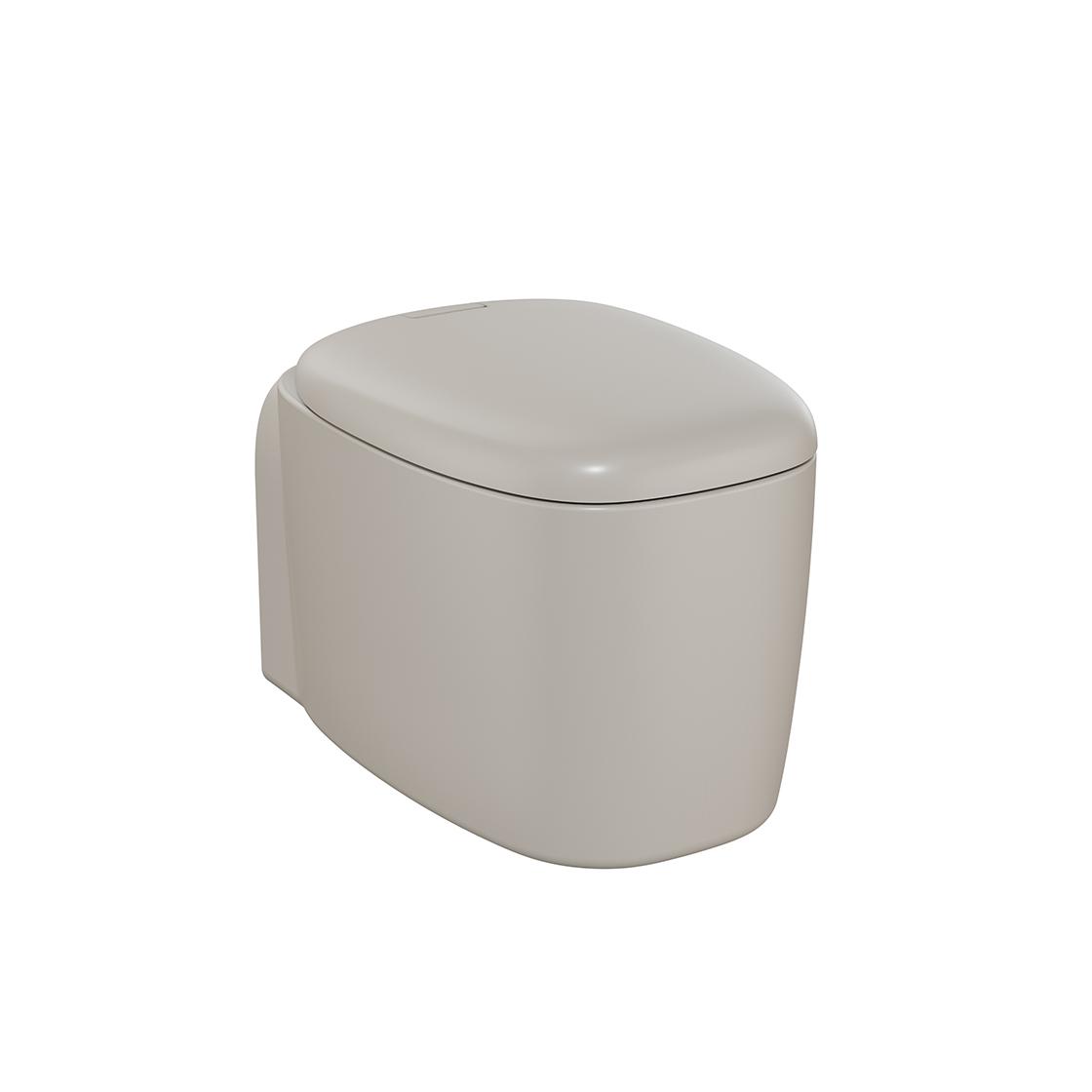 Plural Wand-WC VitrA Flush 2.0, Taupe Matt