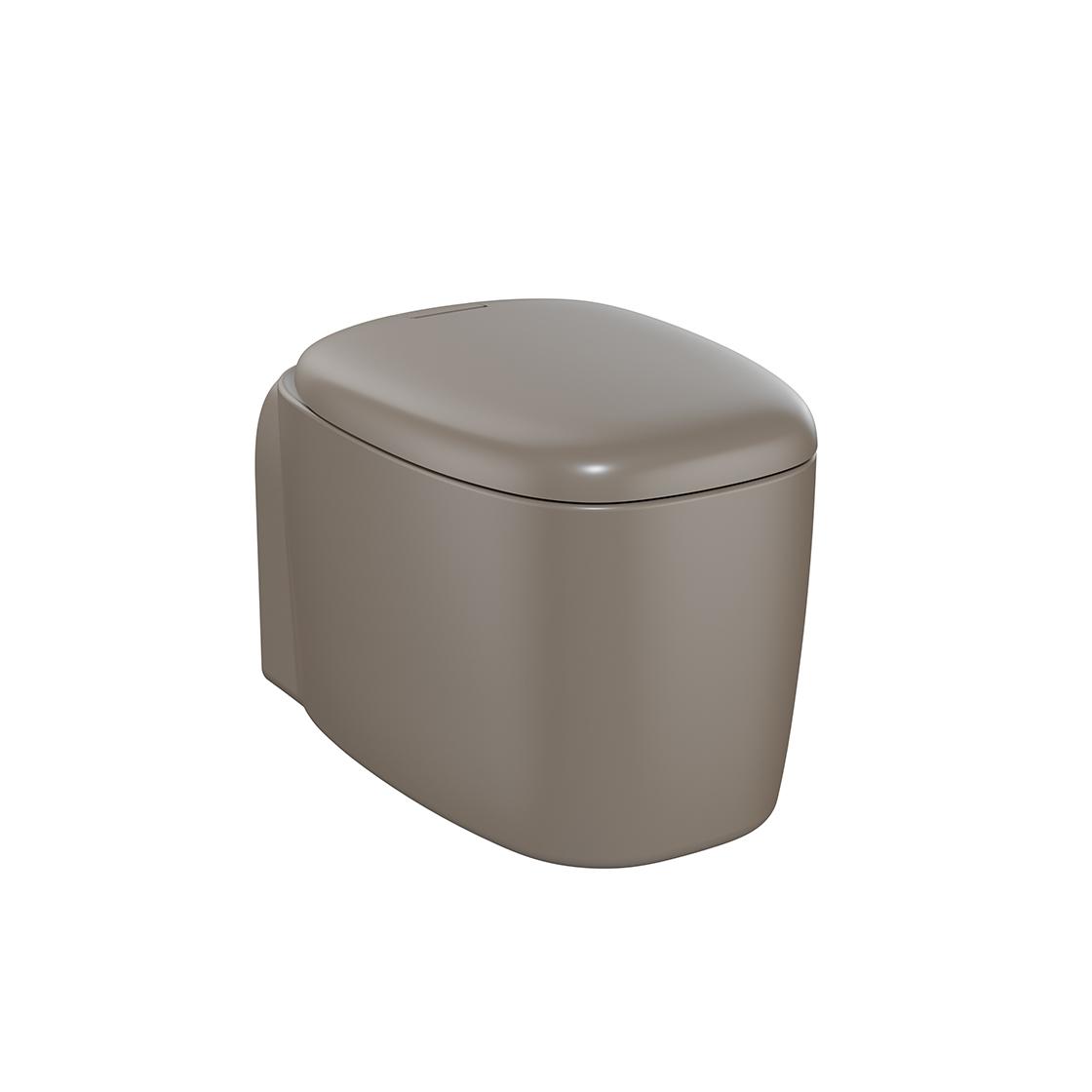 Plural Wand-WC VitrA Flush 2.0, Nerz Matt