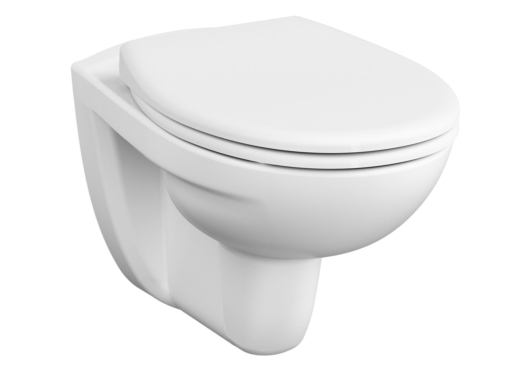 Normus SpinFlush WC suspendu sans bride, 54 cm