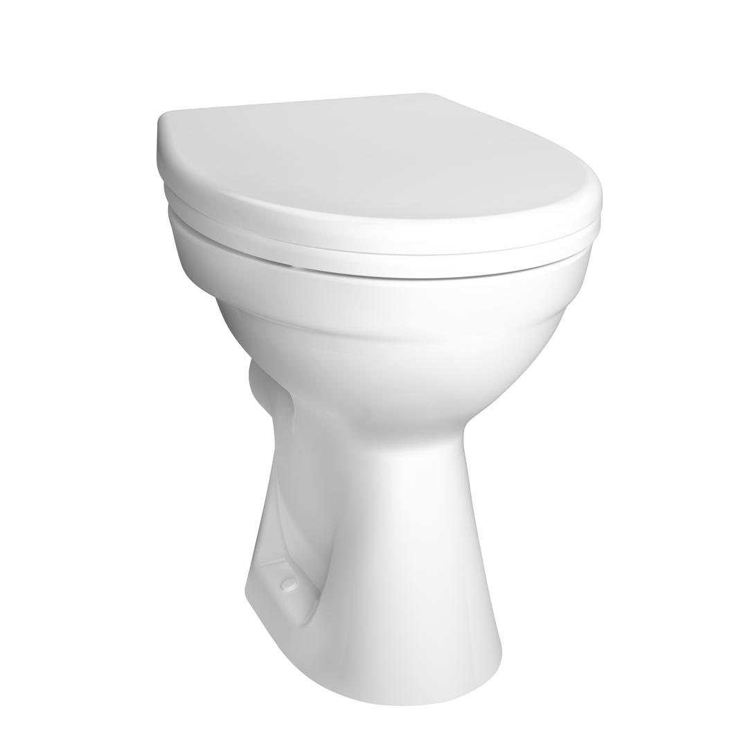 Normus WC à poser sans bride, 46 cm