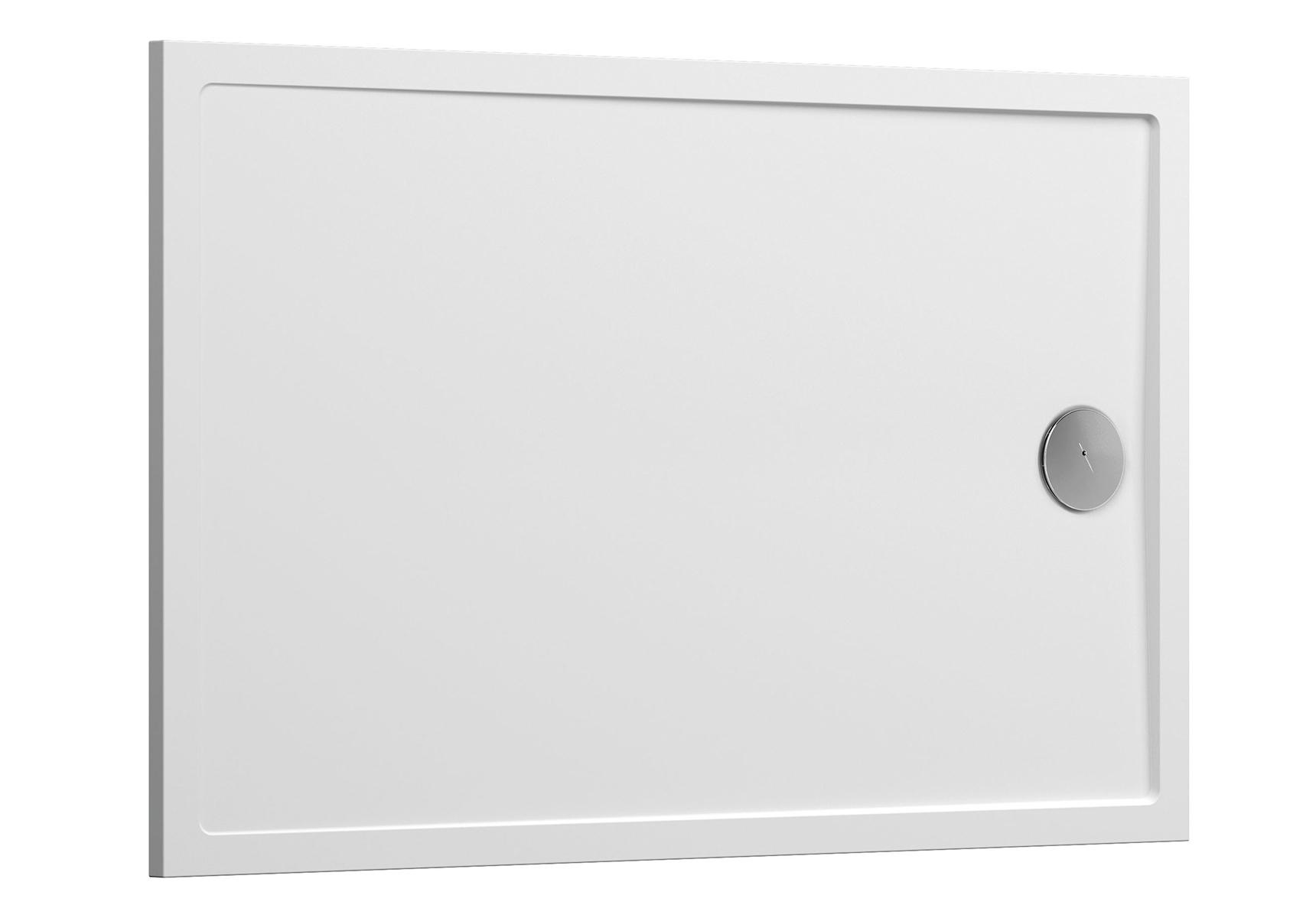 Aruna receveur ultra plat, 120  x  90 cm, à poser ou à encastrer, en pierre m³ solide